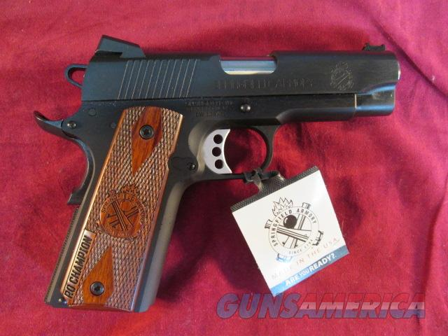 SPRINGFIELD ARMORY 1911 LIGHTWEIGHT CHAMPION RANGE OFFICER COMPACT 45ACP NEW  Guns > Pistols > Springfield Armory Pistols > 1911 Type
