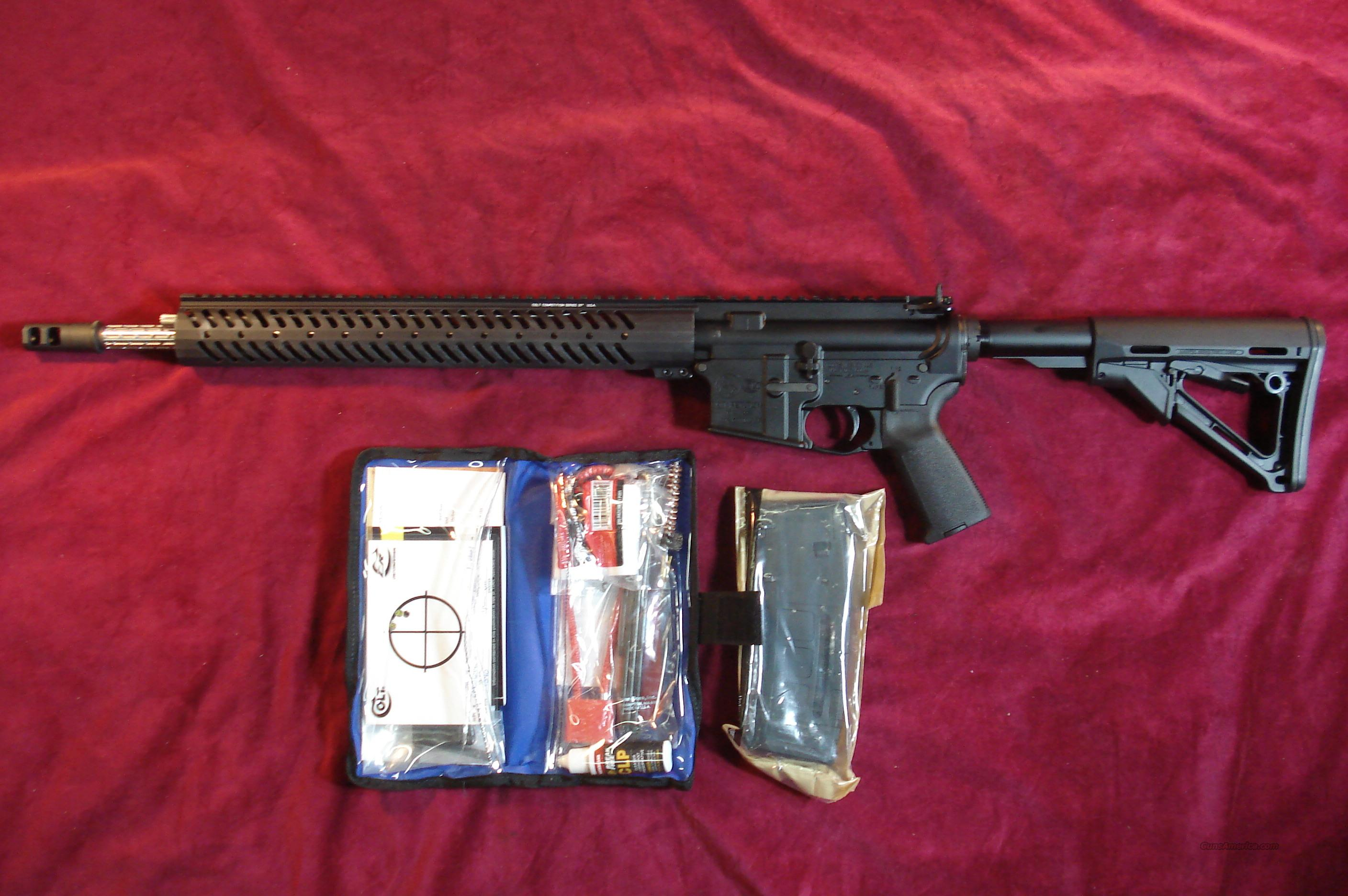 "COLT COMPETITION RIFLE ""PRO"" MODEL CRP-18 18"" 5.56/223CAL. NEW  Guns > Rifles > Colt Military/Tactical Rifles"