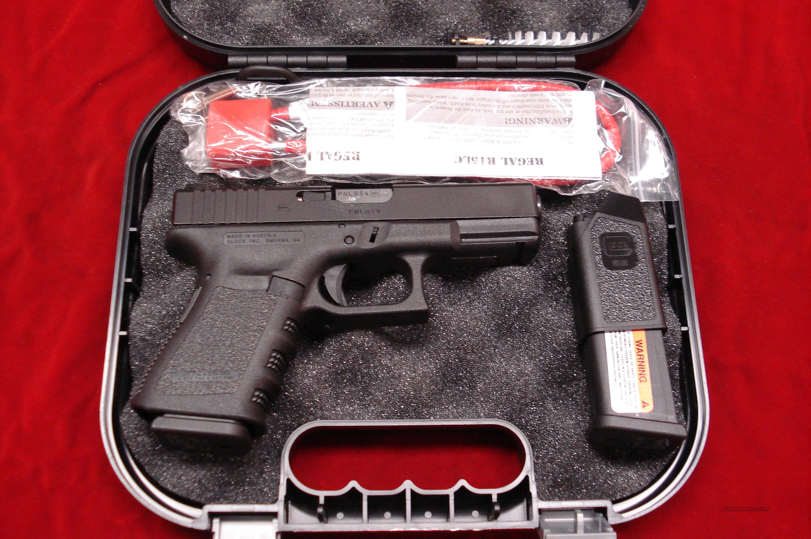 GLOCK MODEL 23 .40 CAL WITH NIGHT SIGHTS AND  HIGH CAPACITY MAGAZINES NEW  Guns > Pistols > Glock Pistols > 23