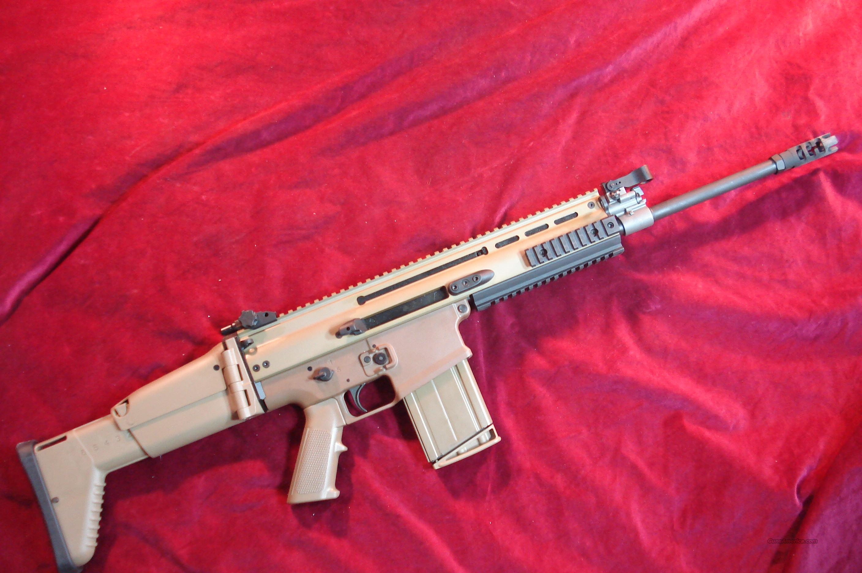 FN SCAR 17S FLAT DARK EARTH 308CAL. NEW  Guns > Rifles > FNH - Fabrique Nationale (FN) Rifles > Semi-auto > Other