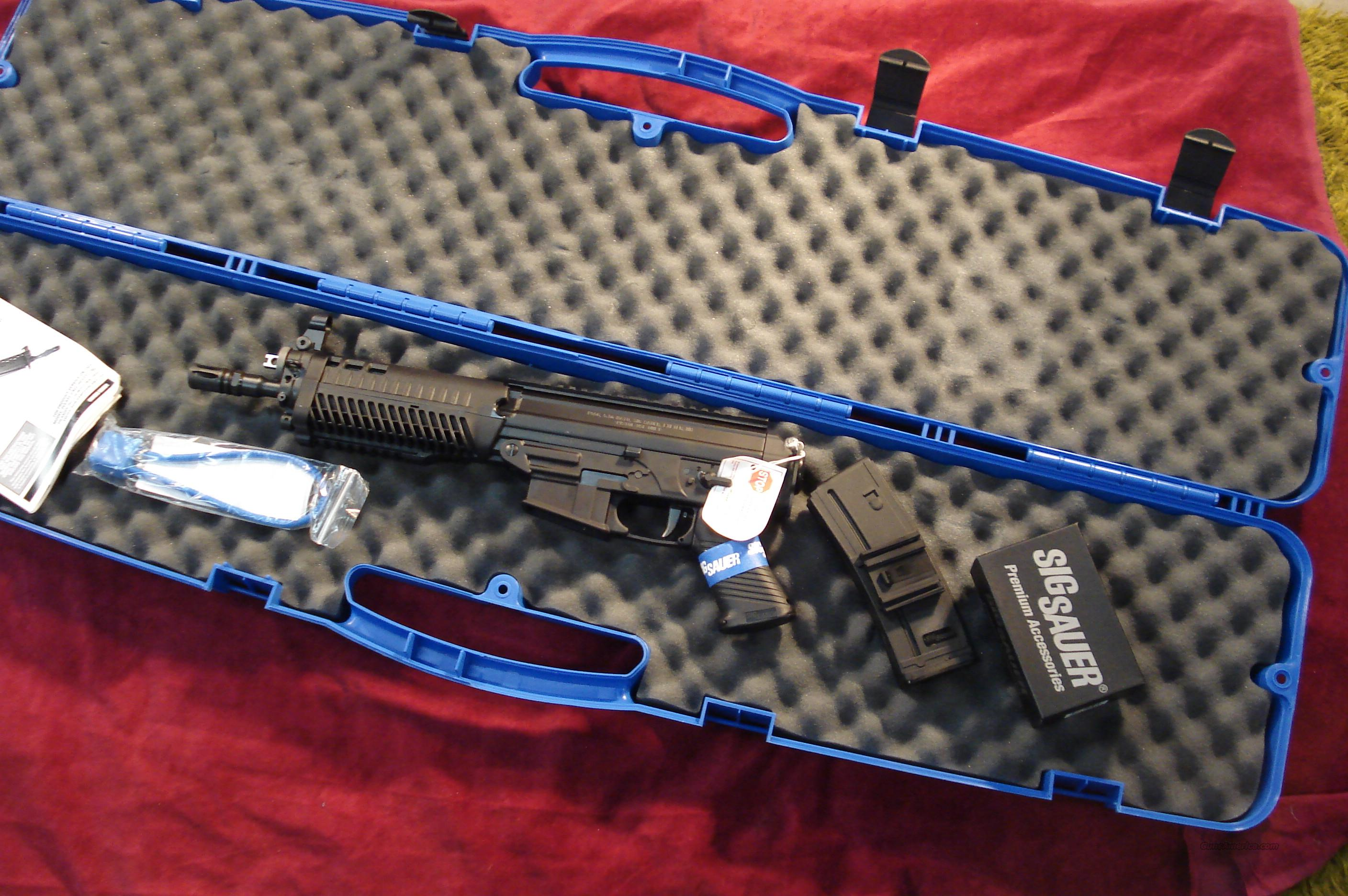 SIG SAUER 556 PISTOL WITH SIG MINI RED DOT SIGHT NEW   Guns > Pistols > Sig - Sauer/Sigarms Pistols > 556