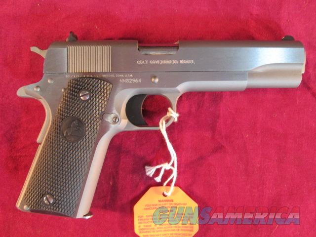 COLT GOVERNMENT MODEL 1911 9MM CAL STAINLESS STEEL NEW  (01092)  Guns > Pistols > Colt Automatic Pistols (1911 & Var)