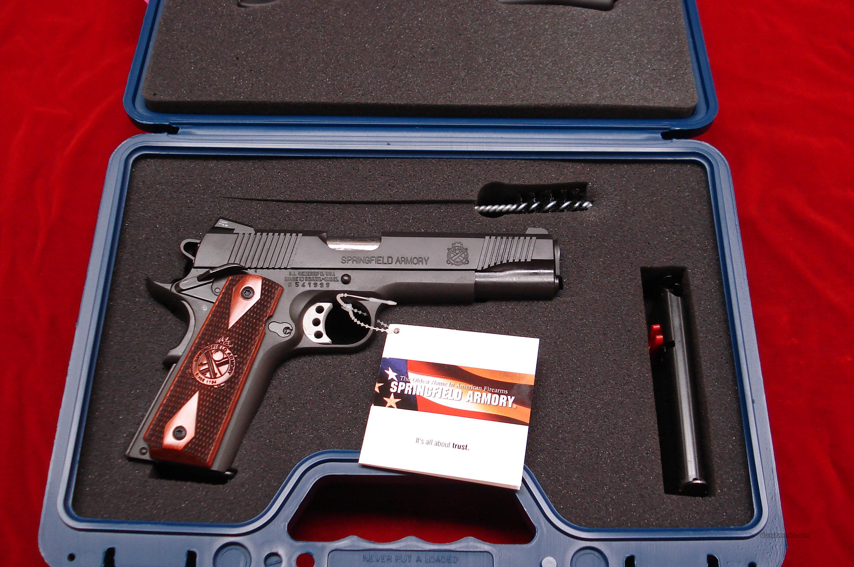 SPRINGFIELD ARMORY 1911 A1 LOADED (PX9109LP) NEW  Guns > Pistols > Springfield Armory Pistols > 1911 Type