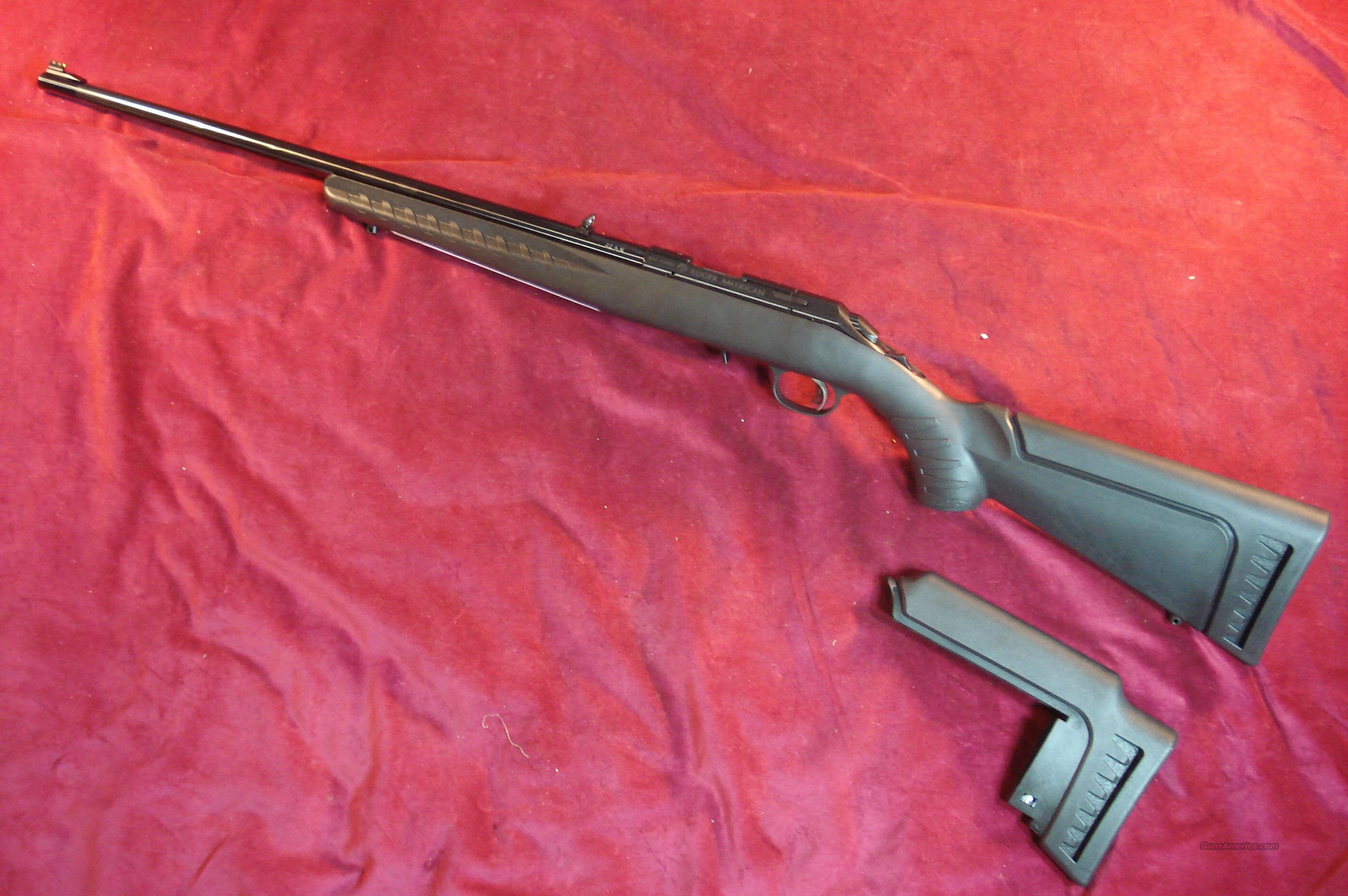 RUGER AMERICAN RIFLE 22LR CAL NEW  Guns > Rifles > Ruger Rifles > American