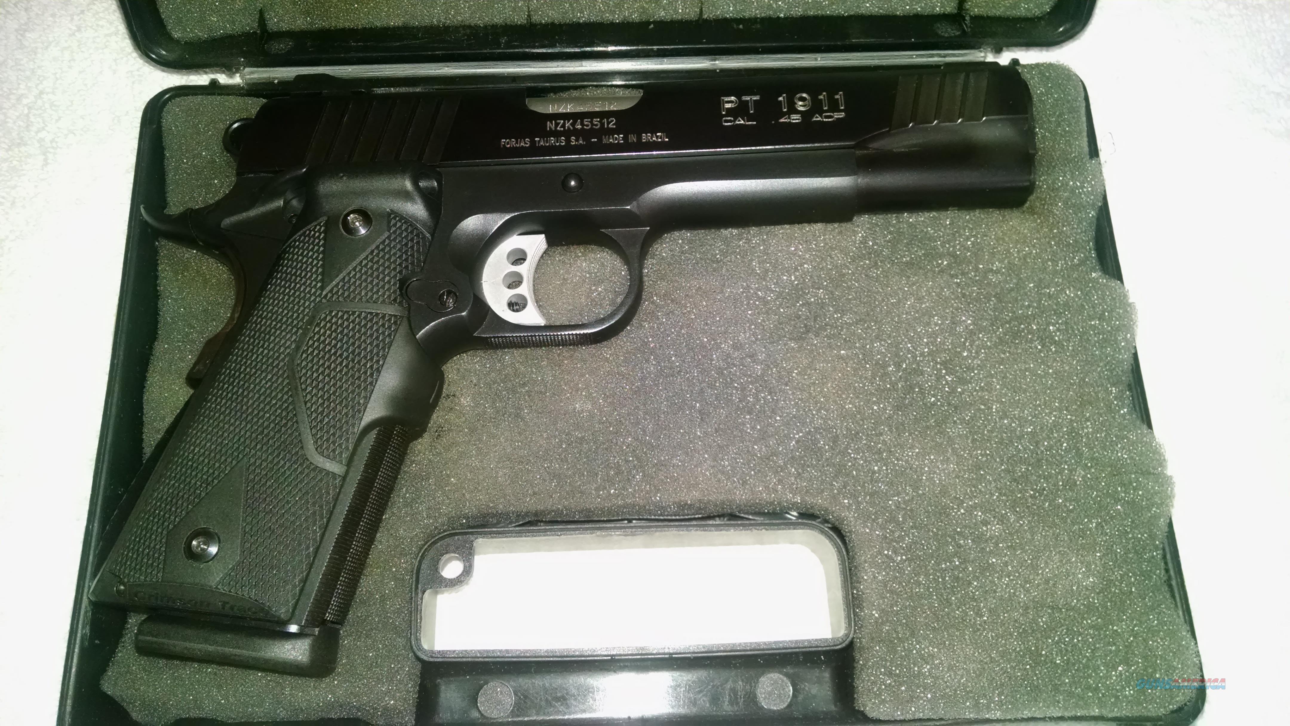 Taurus PT 1911 Homeland Defender  Guns > Pistols > Taurus Pistols > Semi Auto Pistols > Steel Frame