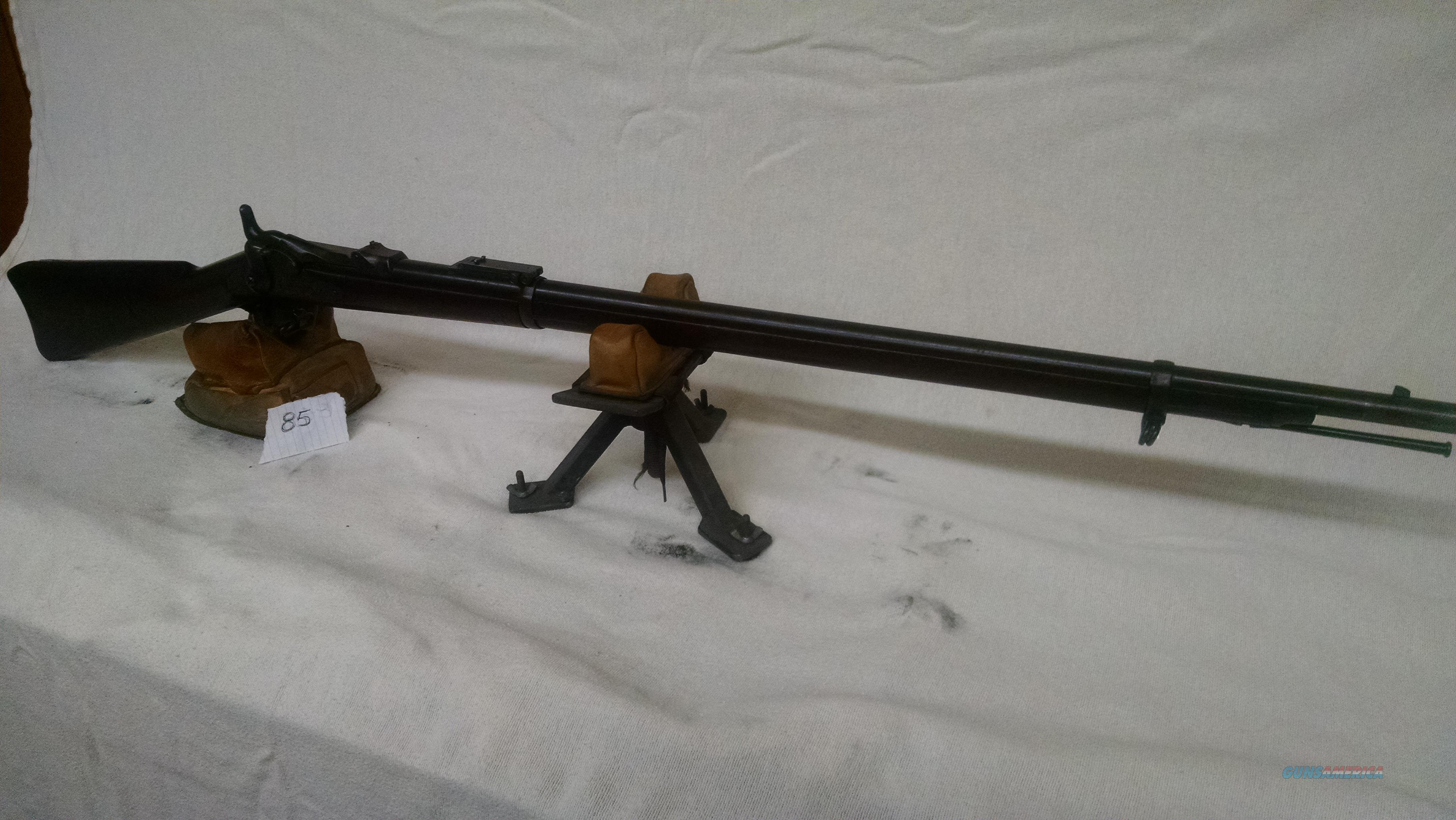Springfield Trapdoor, 1885, 45-70  Guns > Rifles > Antique (Pre-1899) Rifles - Ctg. Misc.