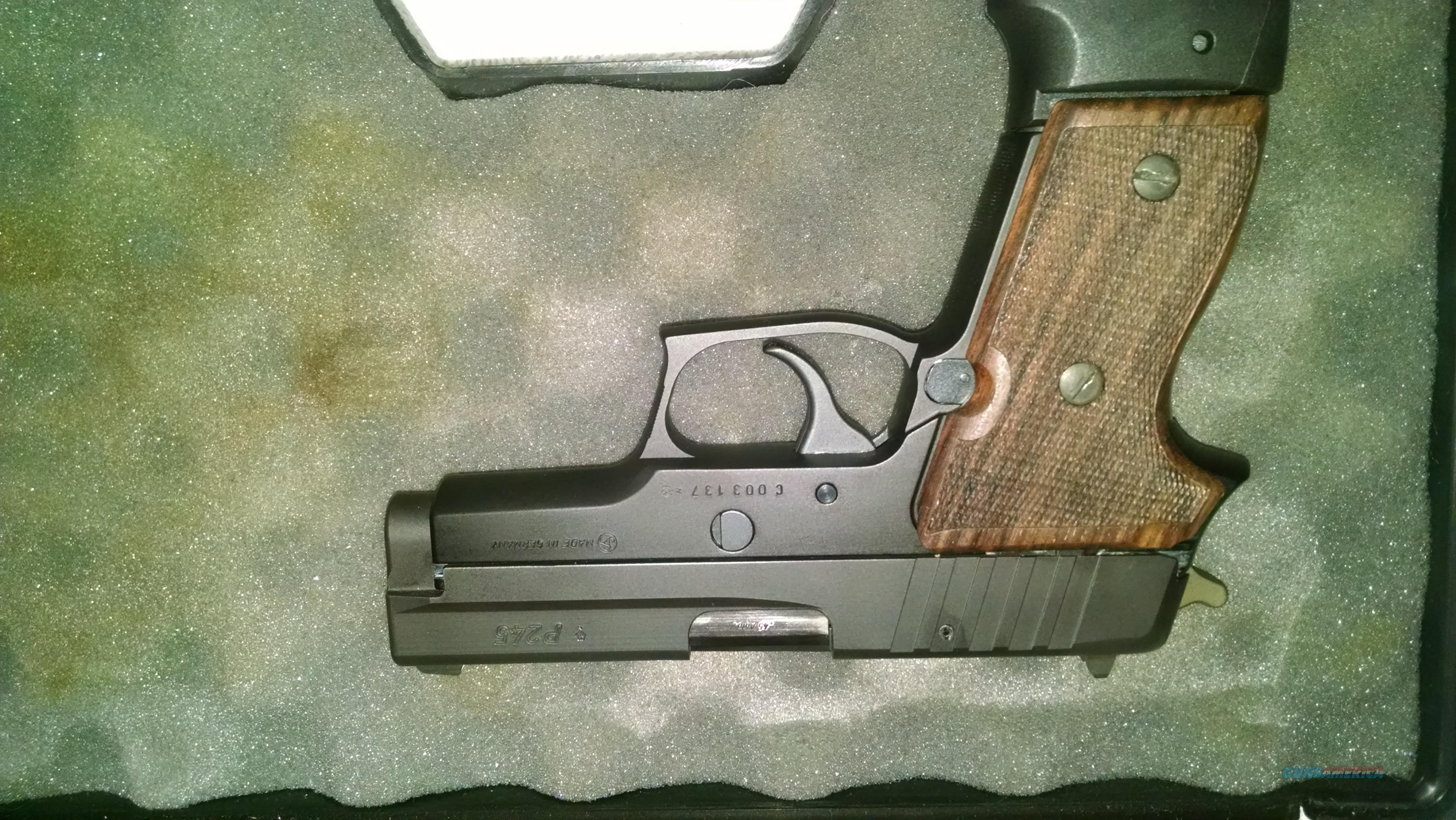 Sig Sauer P245, 45 ACP  Guns > Pistols > Sig - Sauer/Sigarms Pistols > Other