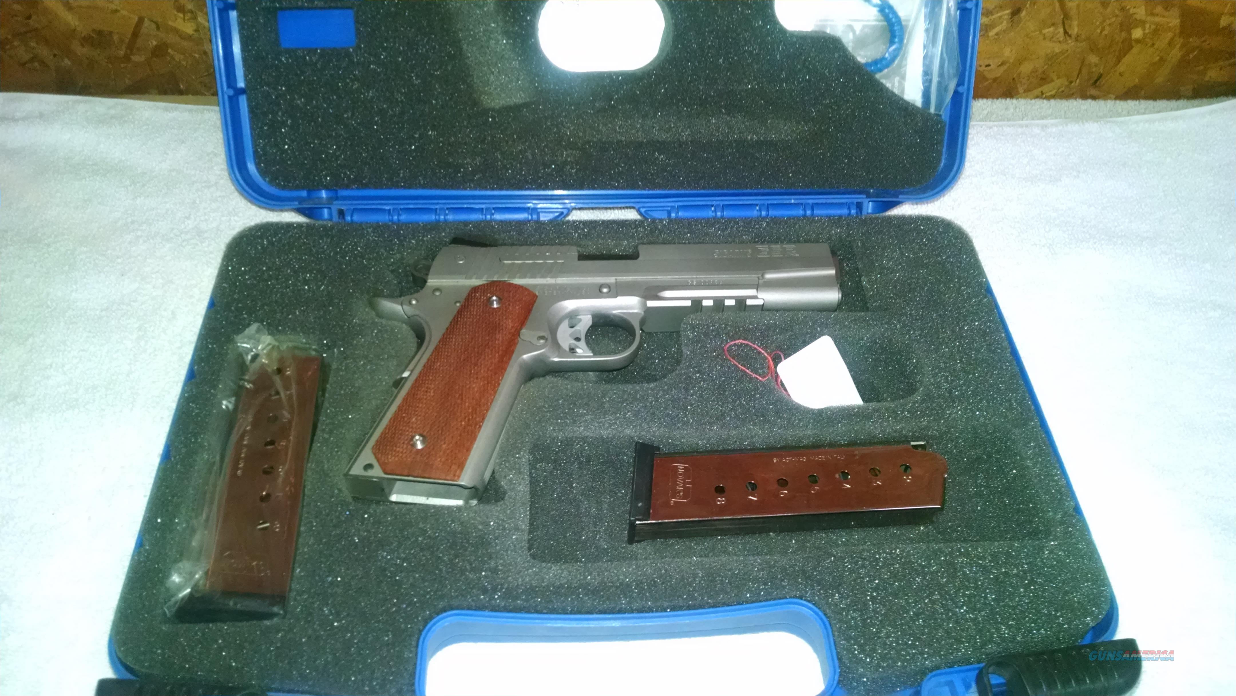 SigArms GSR, 45 ACP, Stainless  Guns > Pistols > Sig - Sauer/Sigarms Pistols > 1911