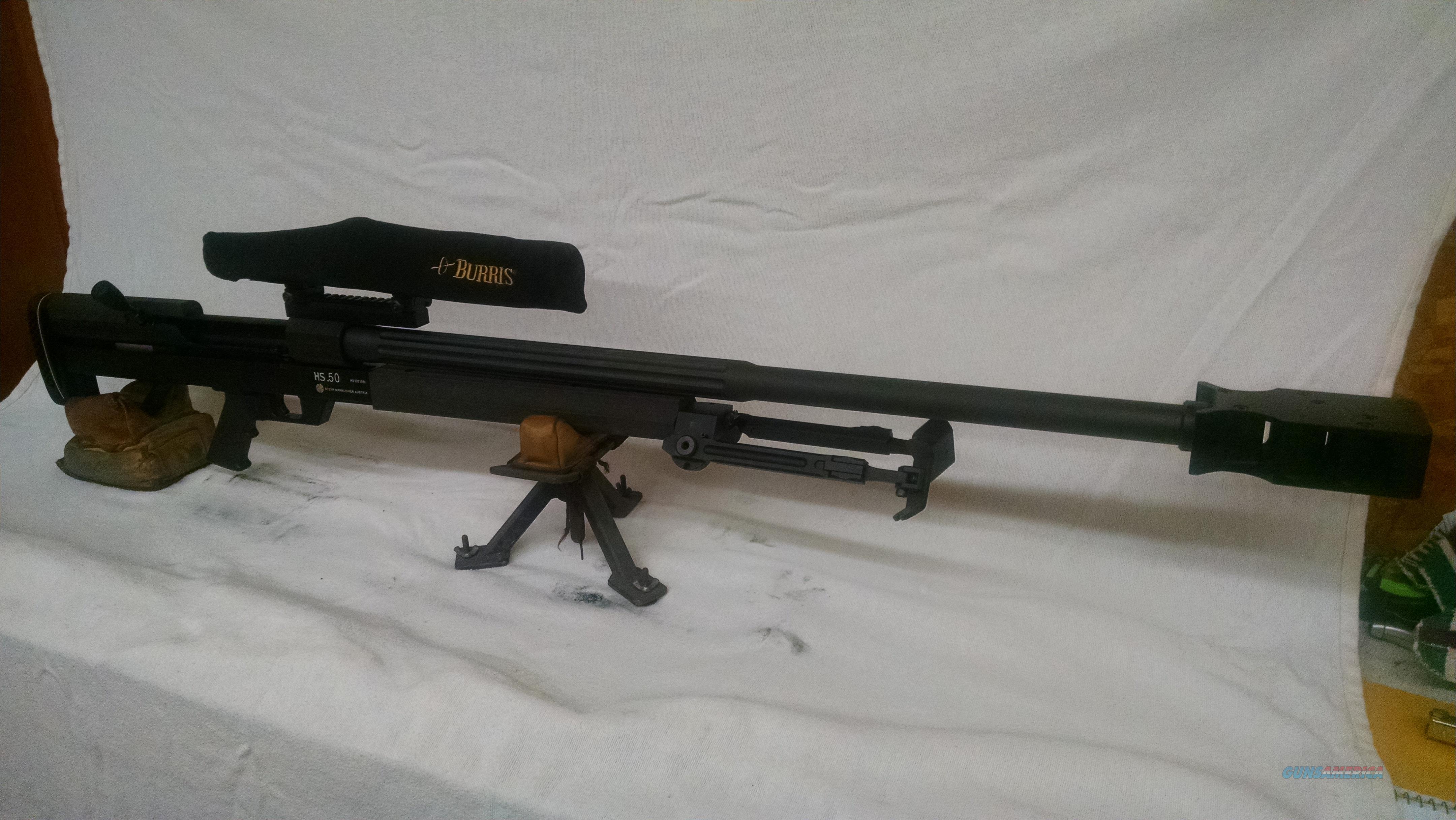Steyr HS50, 50BMG  Guns > Rifles > Steyr Rifles
