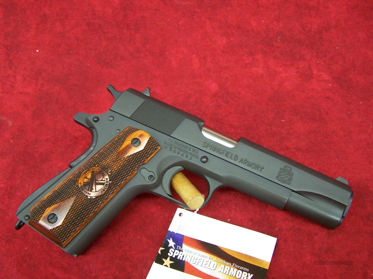Springfield Armory 1911 .45 ACP Mil-Spec Full Size (PB9108L)    Guns > Pistols > Springfield Armory Pistols > 1911 Type