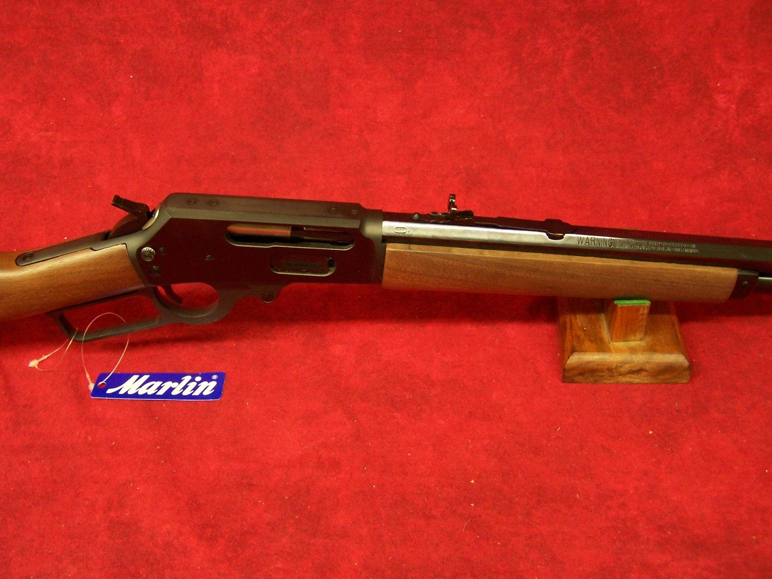 "Marlin 1895 Cowboy .45-70 Govt 18.5"" Barrel Blue Finish American Walnut Straight Stock 6 Round (70458)  Guns > Rifles > Marlin Rifles > Modern > Lever Action"