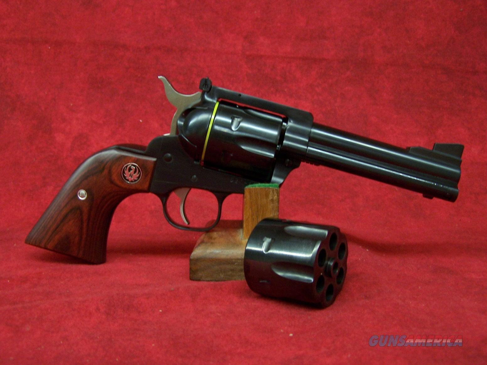 "Ruger New Model Blackhawk Flattop 357/9MM Blue/WD 4 5/8"""" barrel (05244)   Guns > Pistols > Ruger Single Action Revolvers > Blackhawk Type"