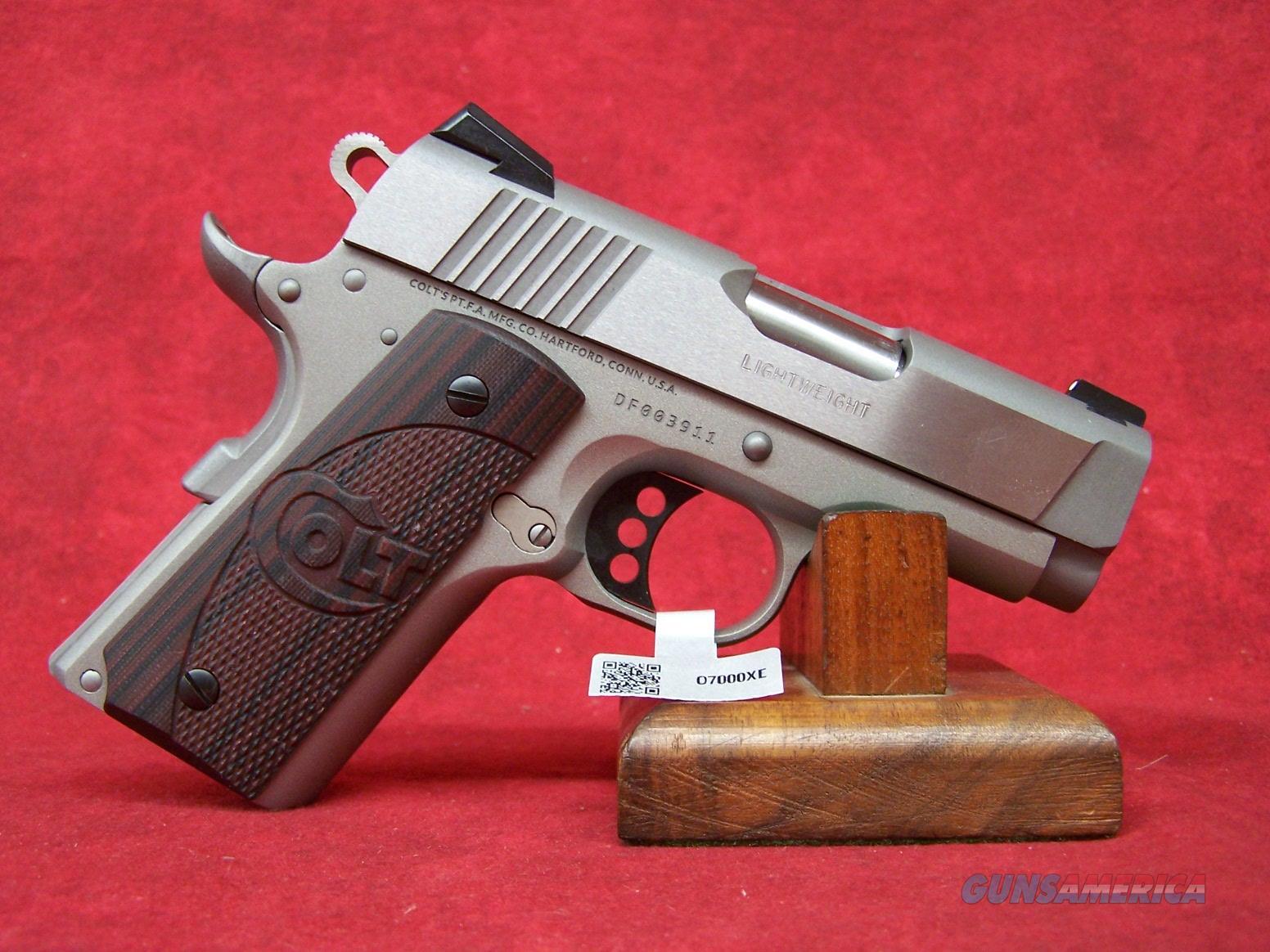 "Colt Defender SS Cerakote .45 ACP 3"" Barrel (07000XE)  Guns > Pistols > Colt Automatic Pistols (1911 & Var)"
