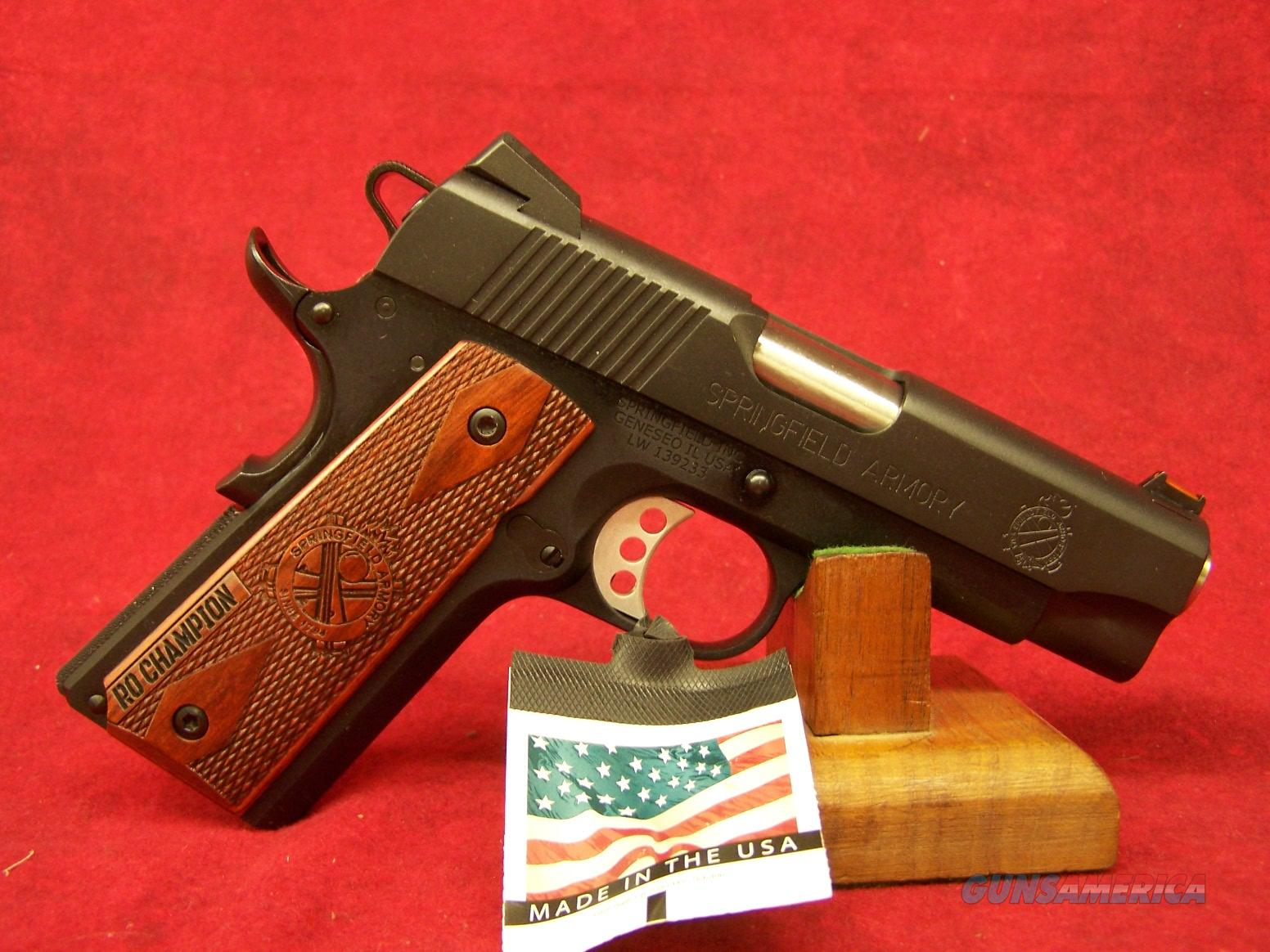 Springfield Armory 1911 Lightweight Compact Range Officer .45ACP (PI9136LP)   Guns > Pistols > Springfield Armory Pistols > 1911 Type