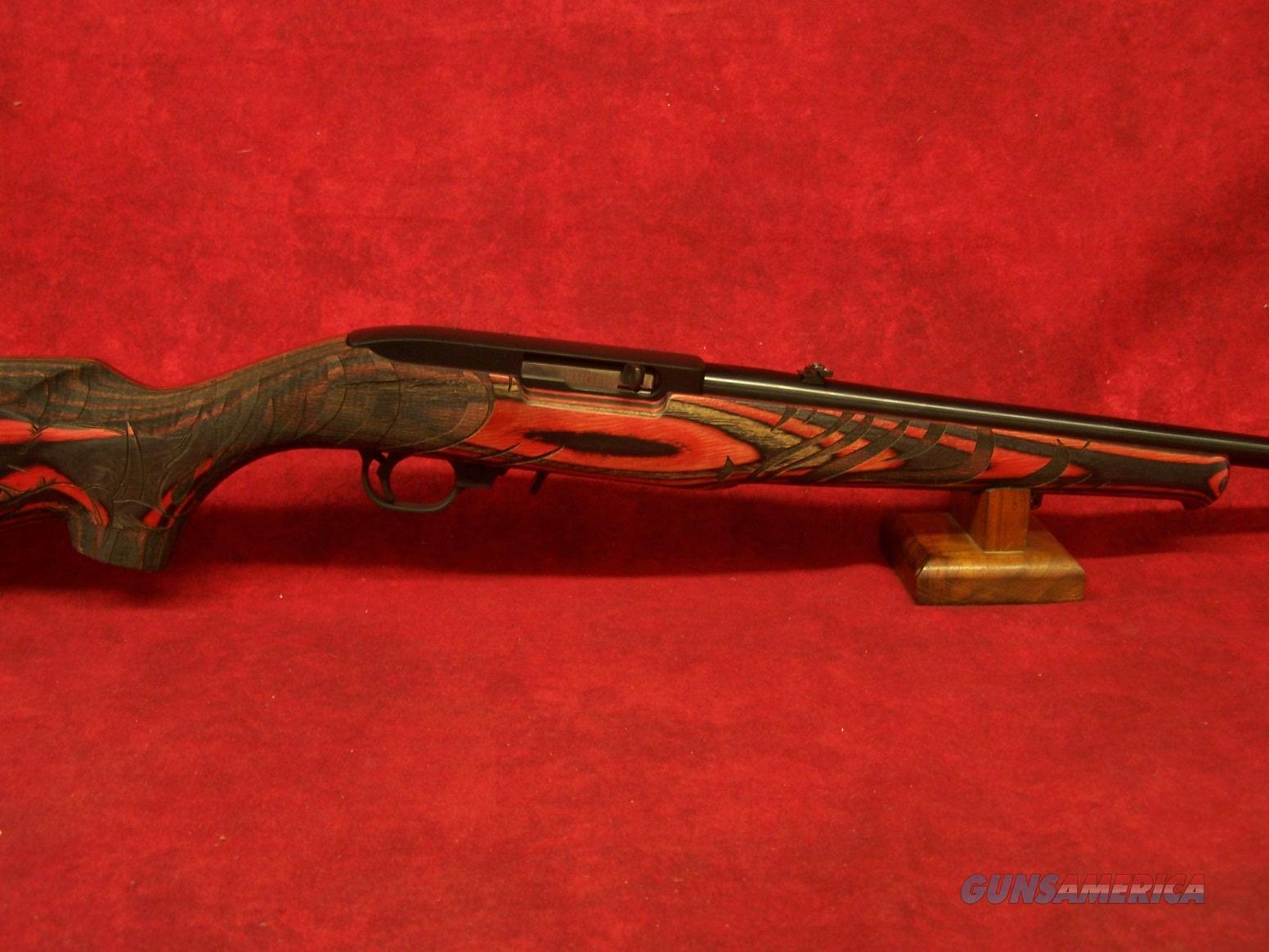 """Ruger 10/22 Wild Hog Sporter .22 LR 18.5"""" Barrel Red/Black Laminate (31107)  Guns > Rifles > Ruger Rifles > 10-22"""