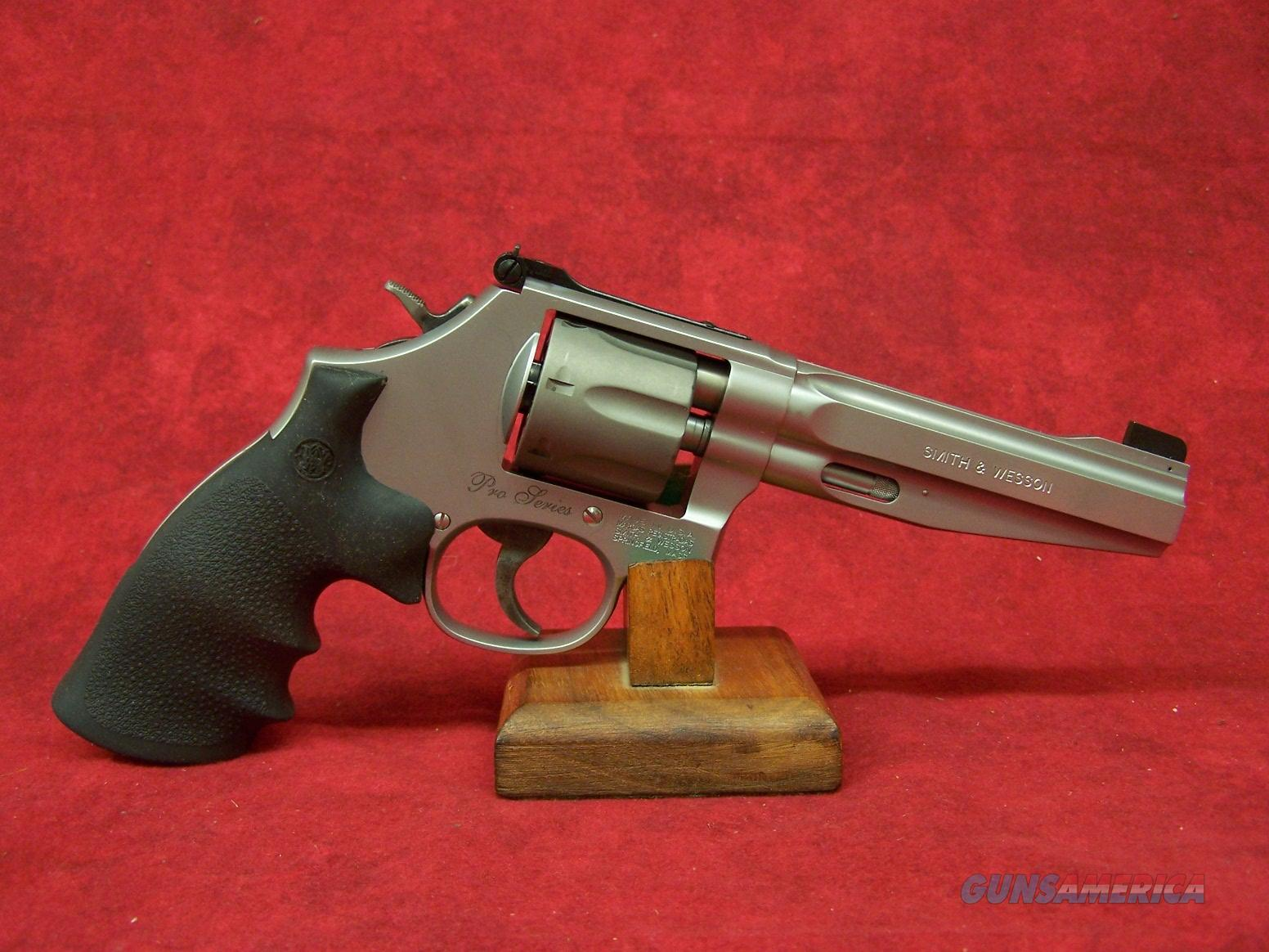 "Smith & Wesson 986 Performance Shop 9mm 5"" SS (178055)  Guns > Pistols > Smith & Wesson Revolvers > Full Frame Revolver"