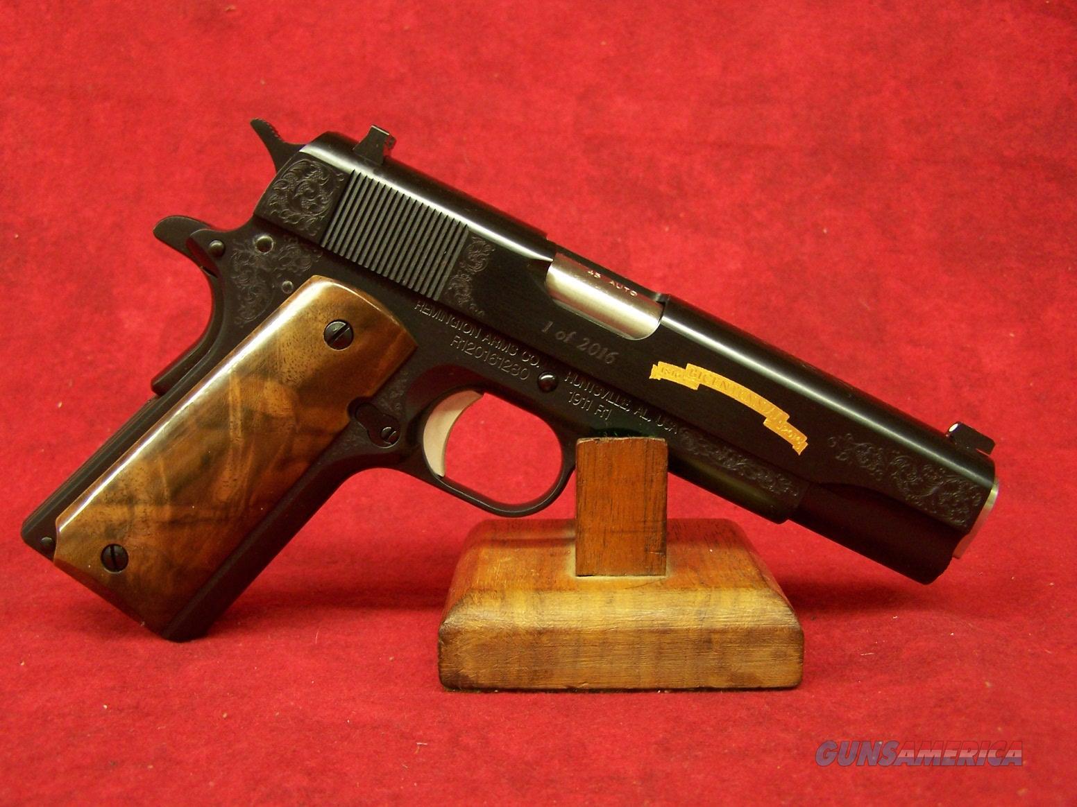 "REMINGTON R1 1911 200TH C GRADE 5"" 45ACP (96372)  Guns > Pistols > Remington Pistols - Modern > 1911"