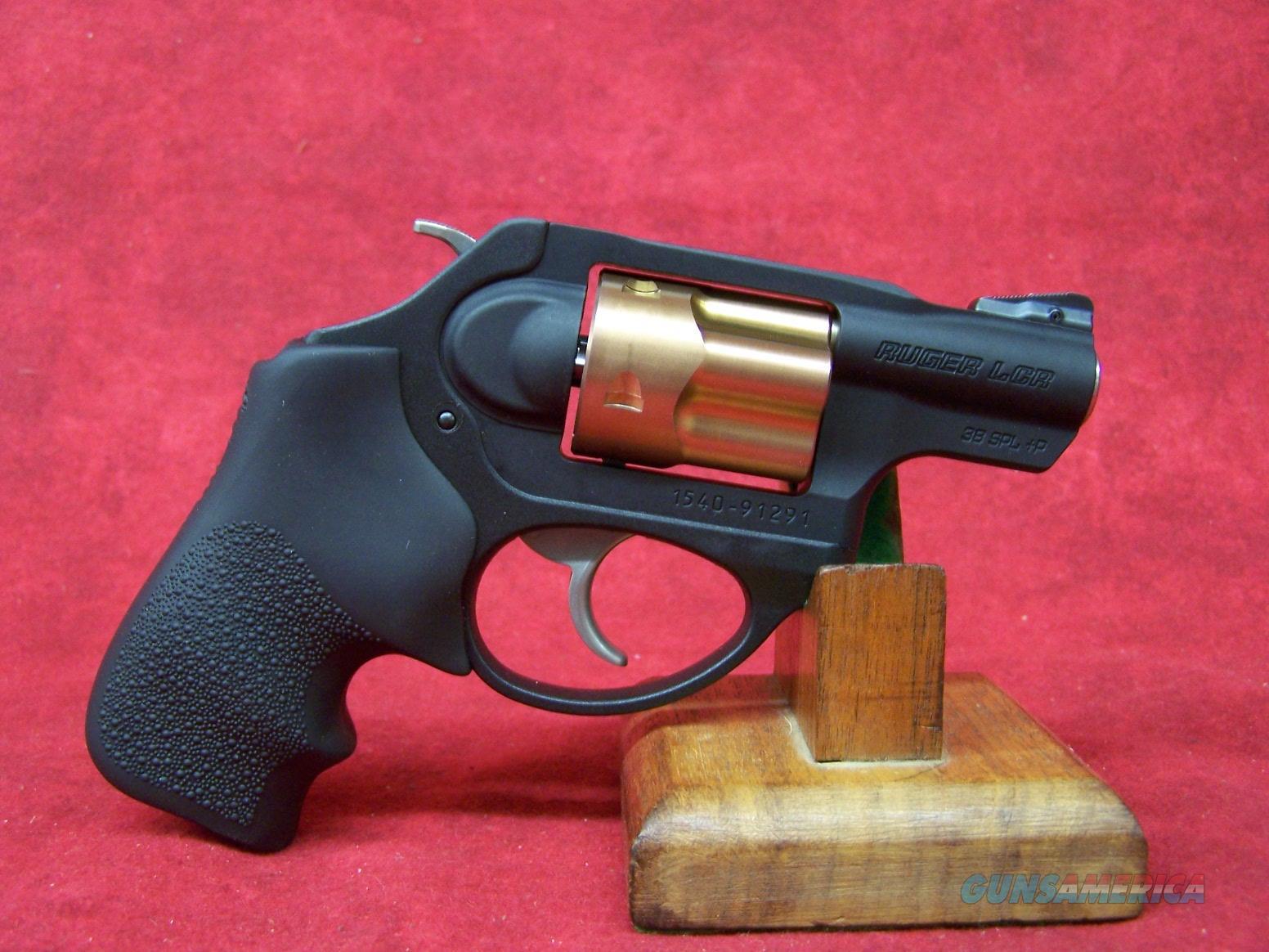 """Ruger LCR .38spl 1.875"""" Barrel 5rnd Copper Mule Cylinder Ruger Promotional Gun (05441)  Guns > Pistols > Ruger Double Action Revolver > LCR"""