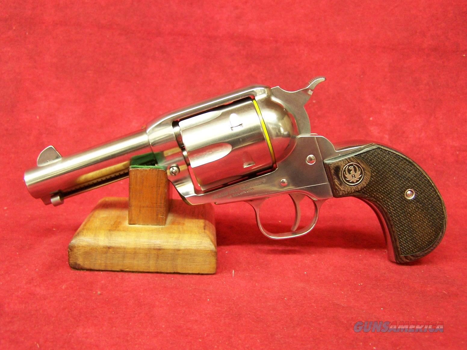 "RUGER VAQUERO 44 MAG 3.75"" SS BIRDS-HEAD & ALTAMONT GR (10596)  Guns > Pistols > Ruger Single Action Revolvers > Cowboy Action"
