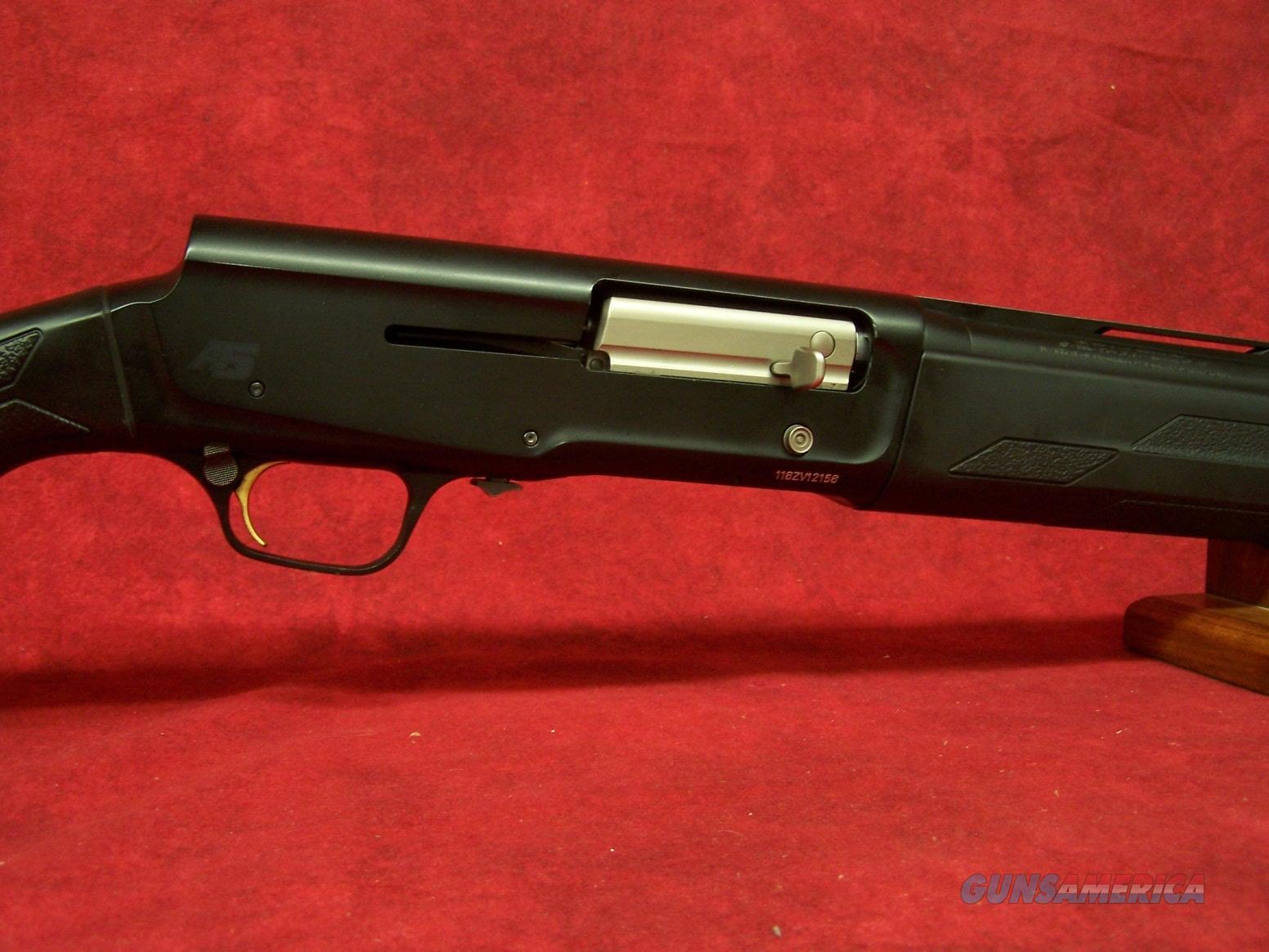 """Browning A5 Stalker Synthetic 12ga 3.5"""" Chamber 28"""" Barrel  Guns > Shotguns > Browning Shotguns > Autoloaders > Hunting"""