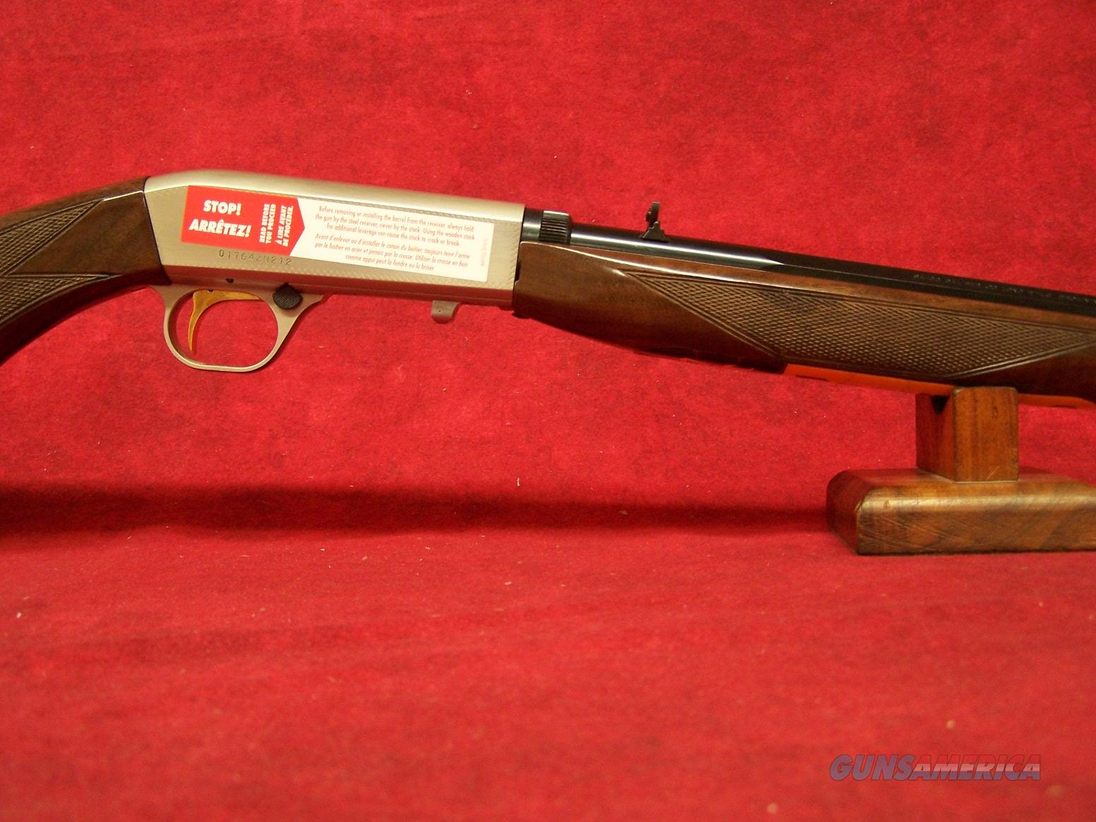 "Browning SA-22 Grade II Octagon .22 LR  19-3/8"" Octagon Barrel (021023102)  Guns > Rifles > Browning Rifles > Semi Auto > Hunting"