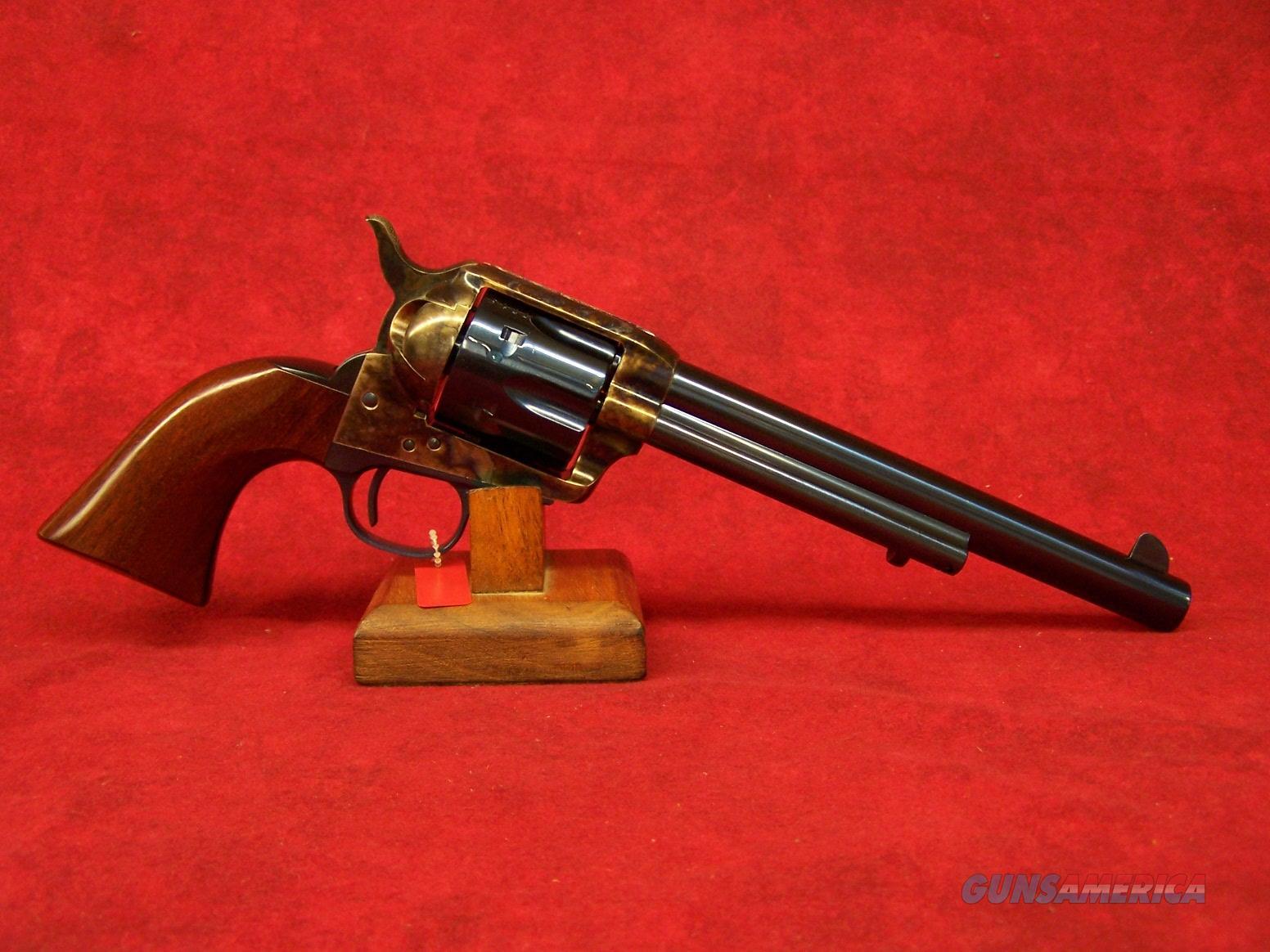 "Uberti 1873 Cattleman OM Charcoal Blue 45LC 7 1/2"" (345143)  Guns > Pistols > Uberti Pistols > Ctg."