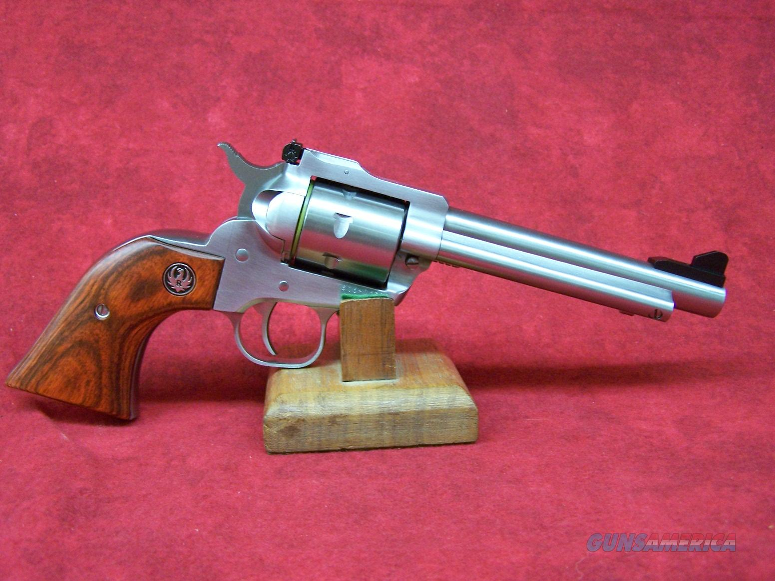 "Ruger Stainless Single Seven .327 Federal Mag 5 1/2"" (08160)  Guns > Pistols > Ruger Single Action Revolvers > Single Six Type"