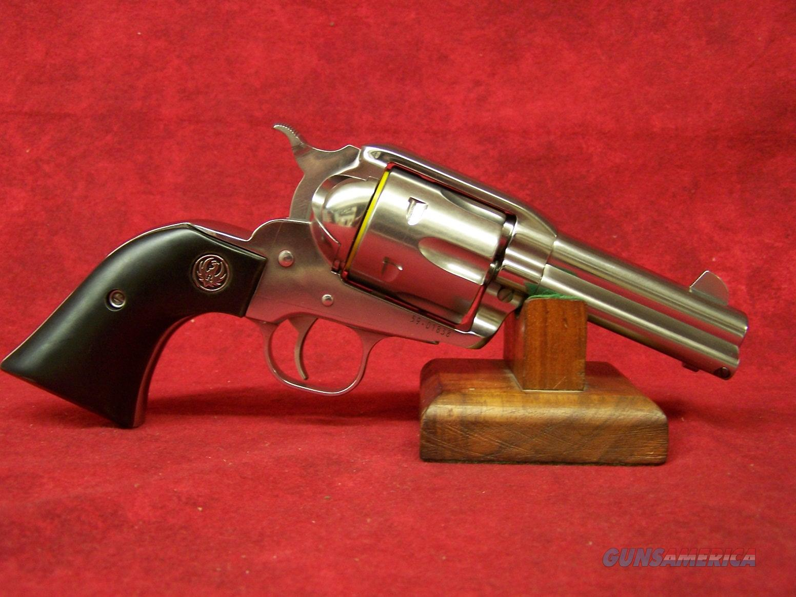 """Ruger Vaquero Talo High Gloss Stainless .44 Rem Mag 3.75"""" (10598)  Guns > Pistols > Ruger Single Action Revolvers > Cowboy Action"""