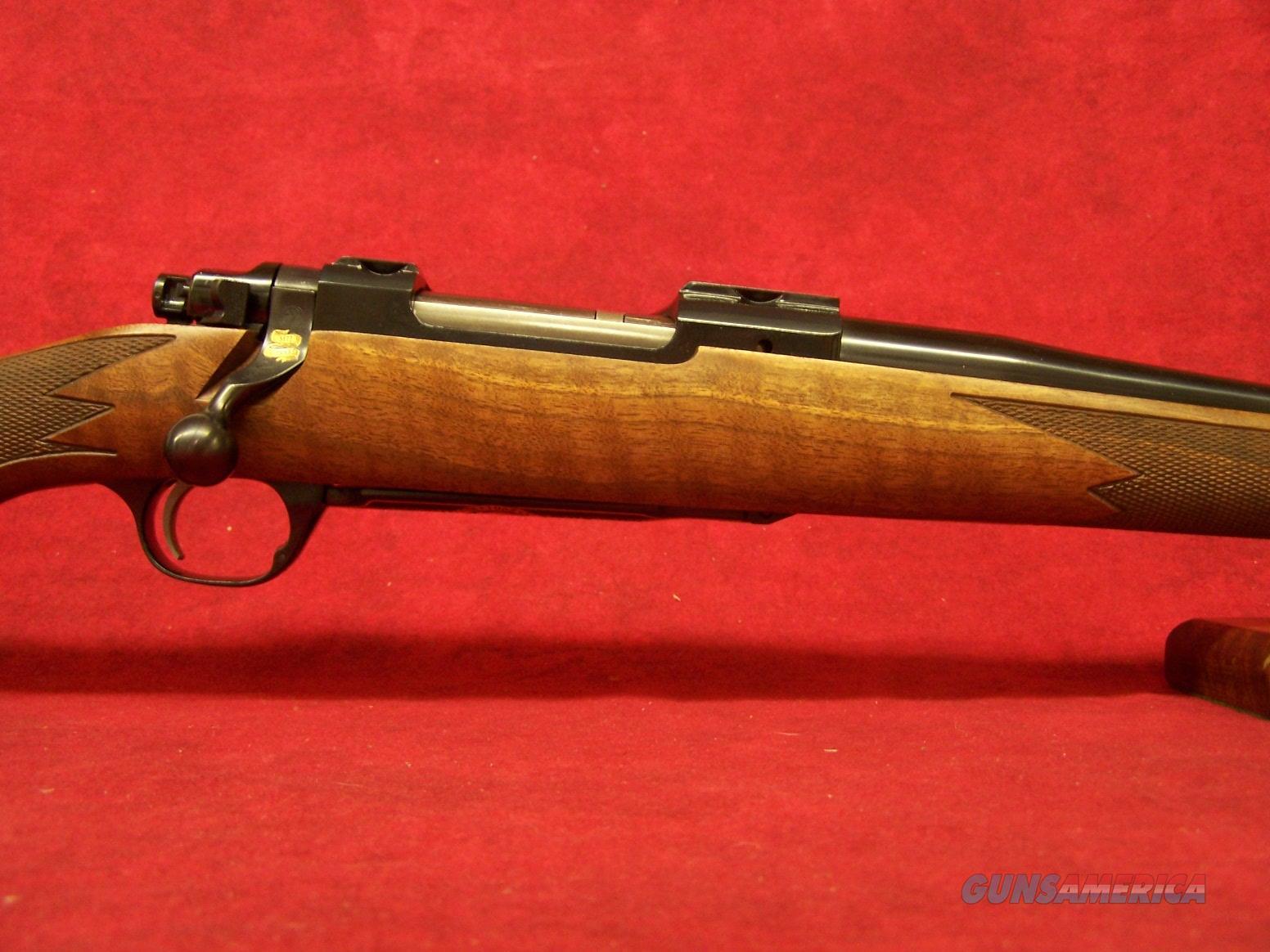 """Ruger M77 Hawkeye 50th Anniv. Limited Edition .243 Win 22"""" Fancy Walnut (47190)  Guns > Rifles > Ruger Rifles > Model 77"""