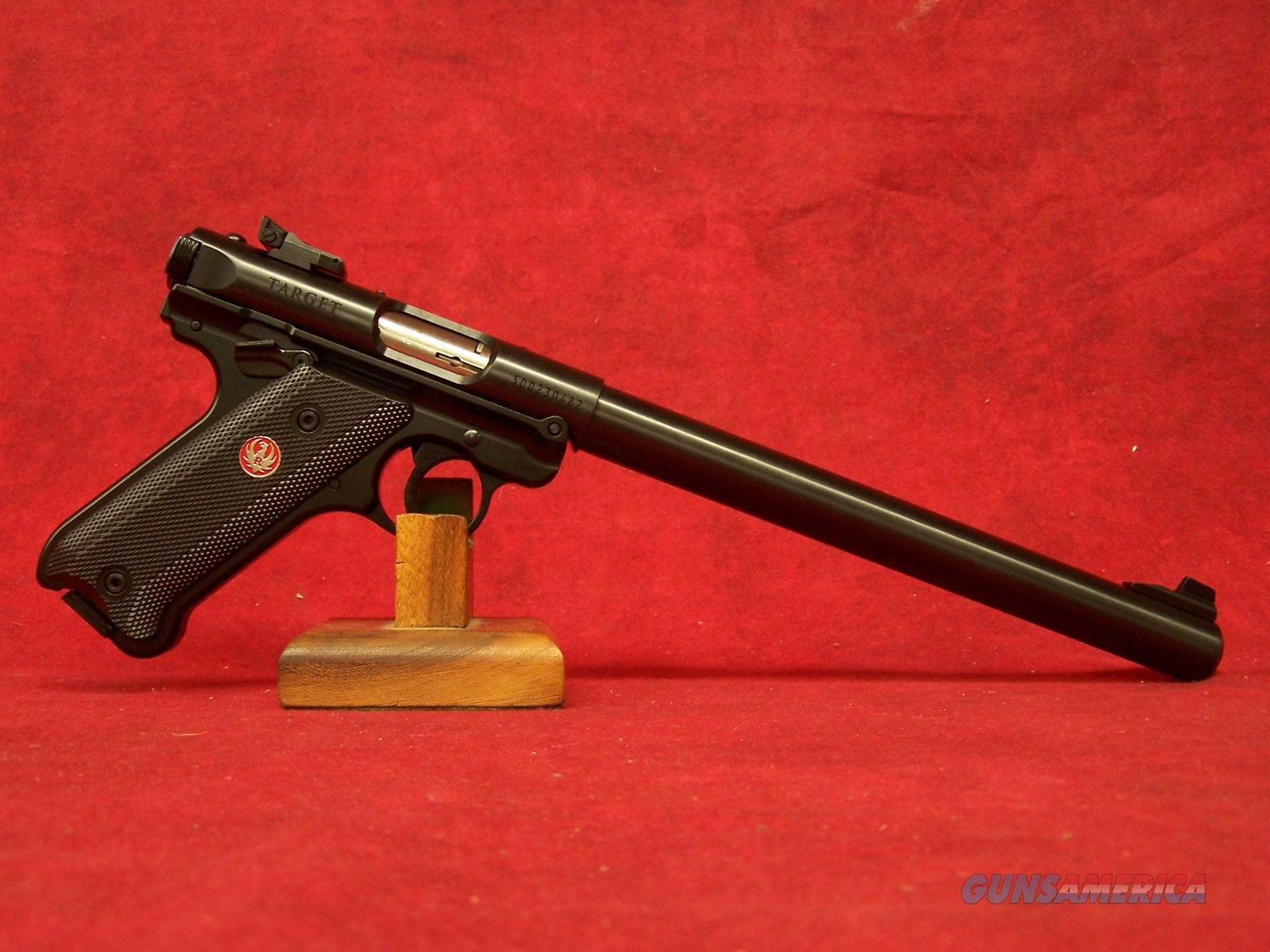 "Ruger Mark IV Target .22lr 10"" blue Barrel (40173)  Guns > Pistols > Ruger Semi-Auto Pistols > Mark I/II/III/IV Family"