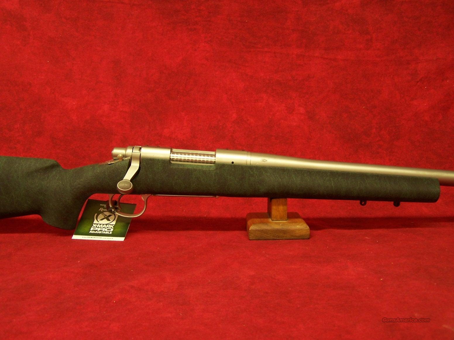 "Remington 700 Stainless 20"" Threaded barrel Special 5-R Milspec .308 cal(85200)  Guns > Rifles > Remington Rifles - Modern > Model 700 > Sporting"