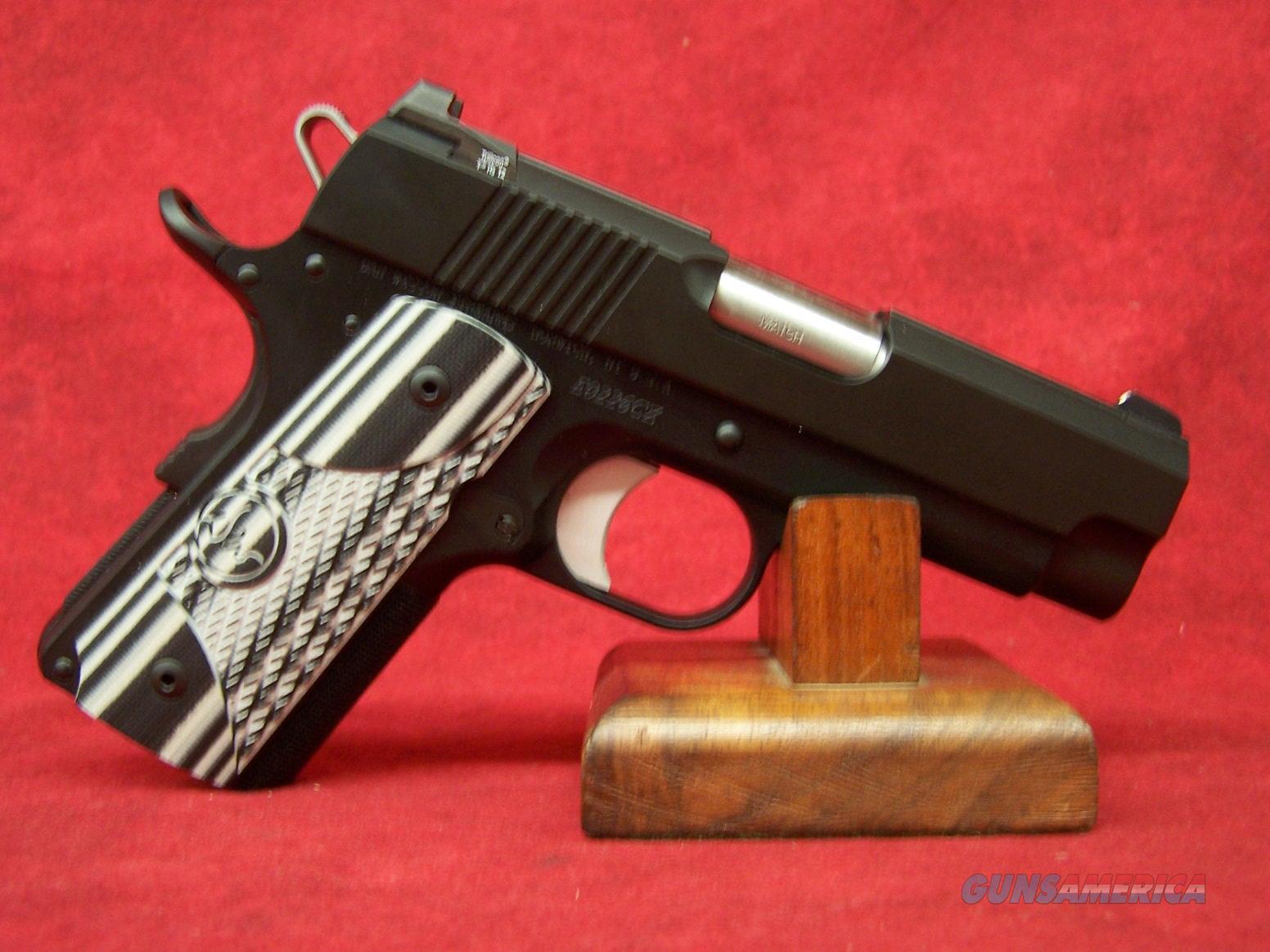 "Dan Wesson ECO Officer Size .45 ACP 3.5"" Barrel G10 ALLOY NS (01969) CZ USA  Guns > Pistols > Dan Wesson Pistols/Revolvers > 1911 Style"