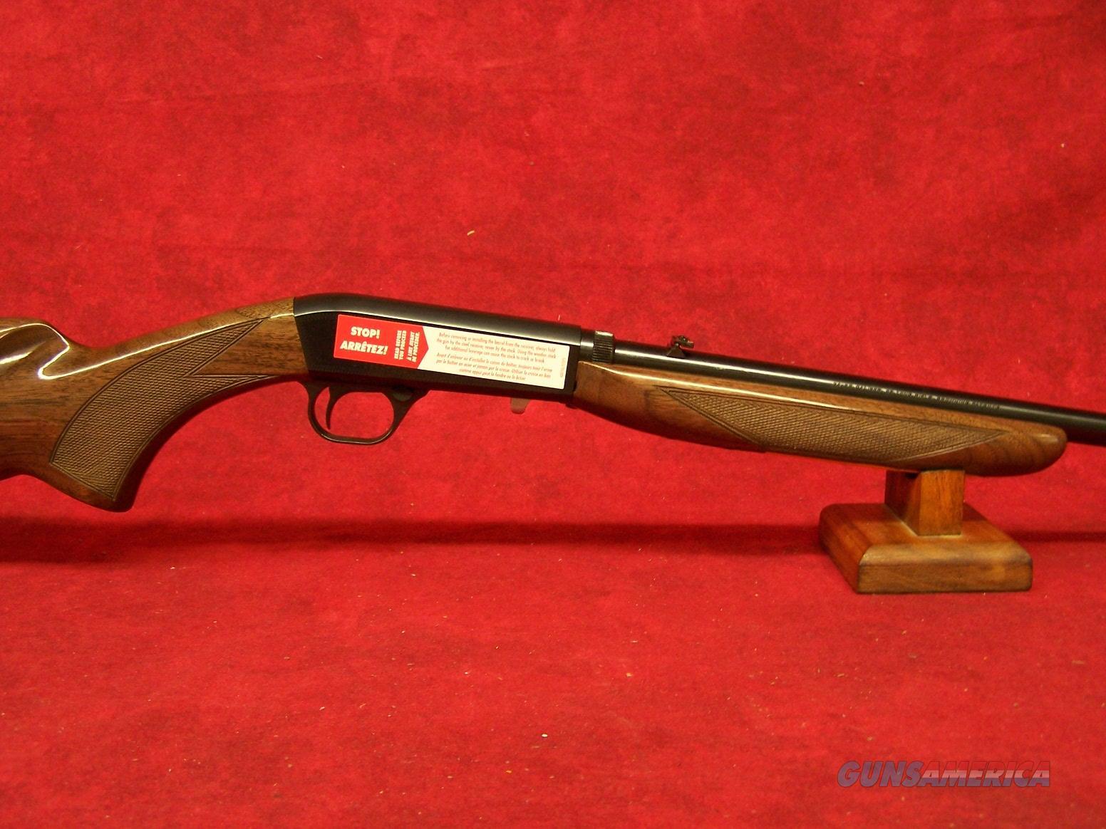 """Browning SA-22 .22 Long Rifle 19.25"""" Polished Blue Grade 1 (021001102)  Guns > Rifles > Browning Rifles > Semi Auto > Hunting"""
