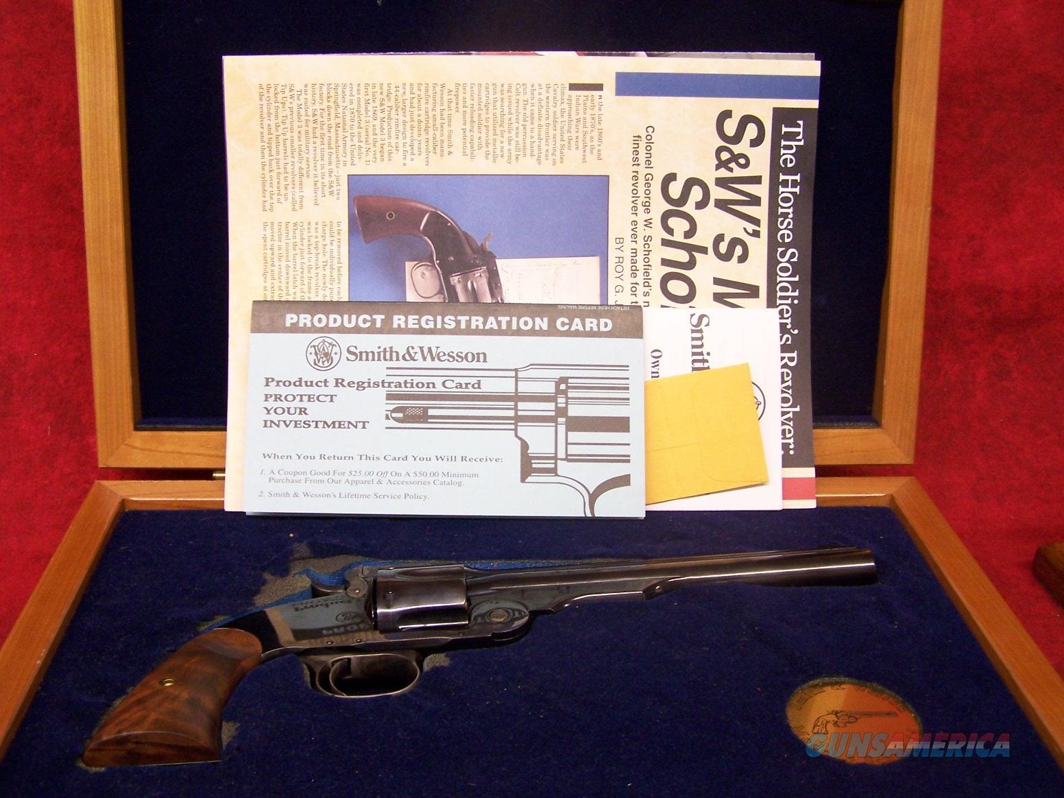 "Smith & Wesson Schofield Model 3 Performance Shop .45 S&W 7"" Barrel (170146)  Guns > Pistols > Smith & Wesson Revolvers > Performance Center"