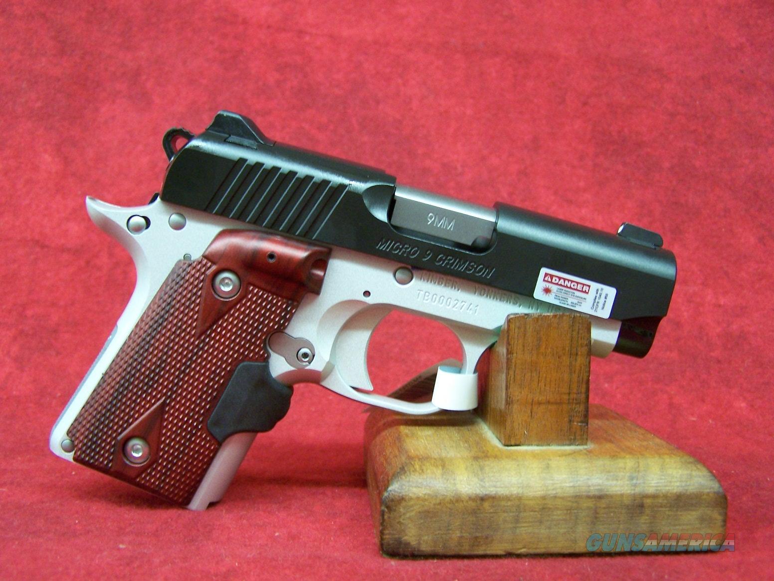 Kimber Micro 9 Crimson Carry (33101)  Guns > Pistols > Kimber of America Pistols