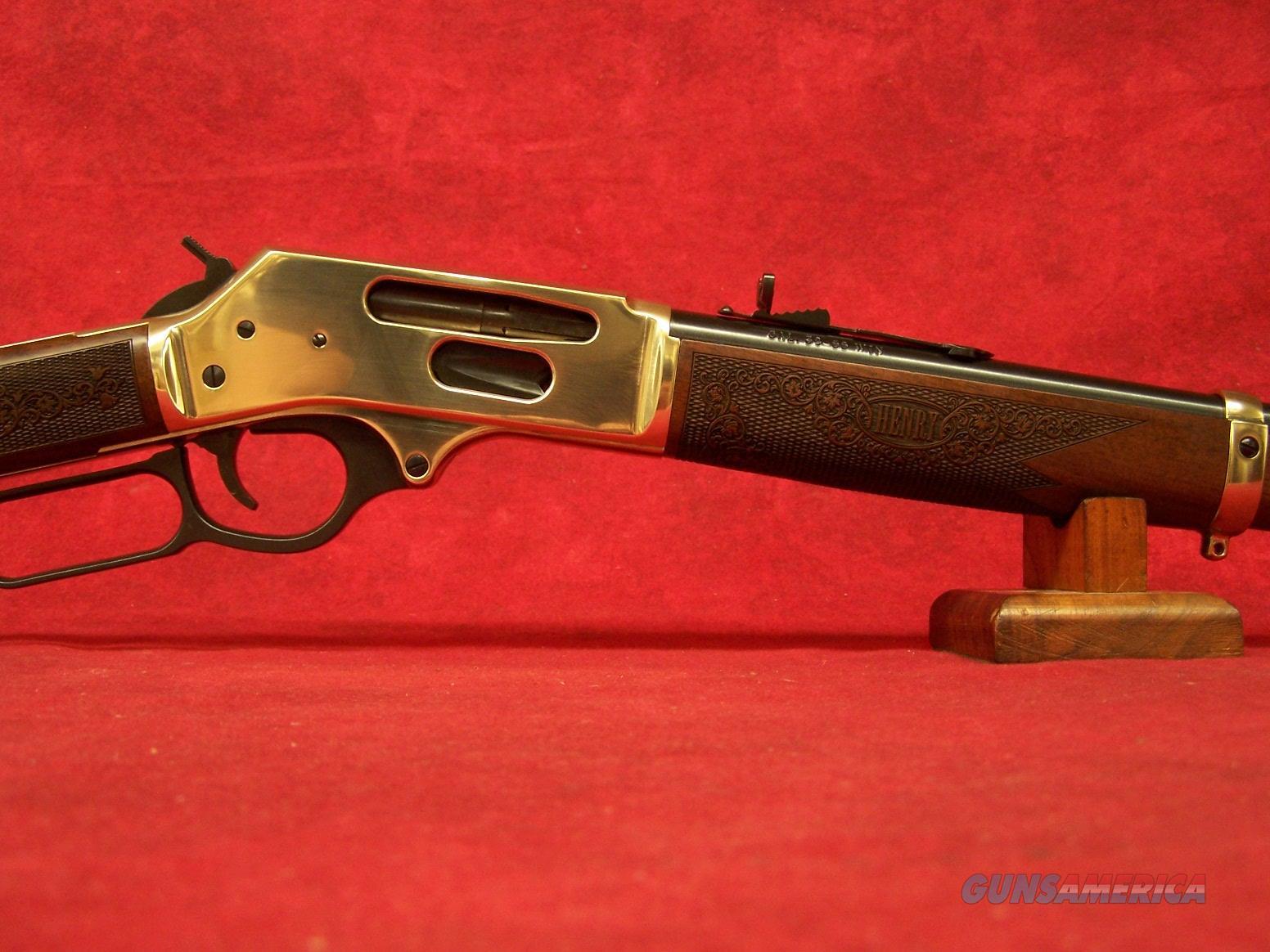 "Henry Cowboy Carbine .38/55 20"" Barrel side gate load (H024-3855)  Guns > Rifles > Henry Rifle Company"
