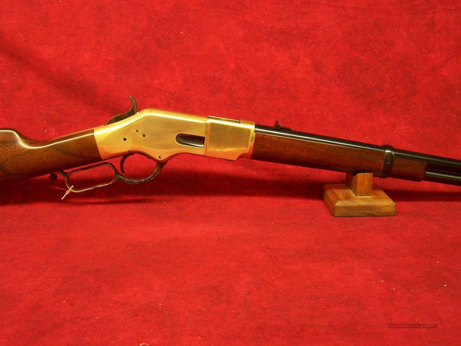"Uberti 1866 Yellowboy 19"" Carbine Brass .44/40 (342300).   Guns > Rifles > Uberti Rifles > Lever Action"