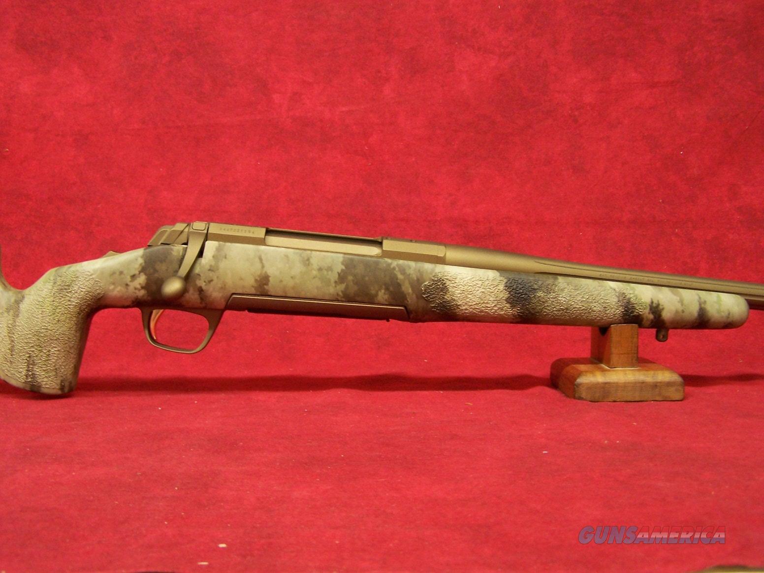 X-Bolt Hell's Canyon Long Range McMillan 7mm Remington Mag ( 035395227)  Guns > Rifles > Browning Rifles > Bolt Action > Hunting > Blue