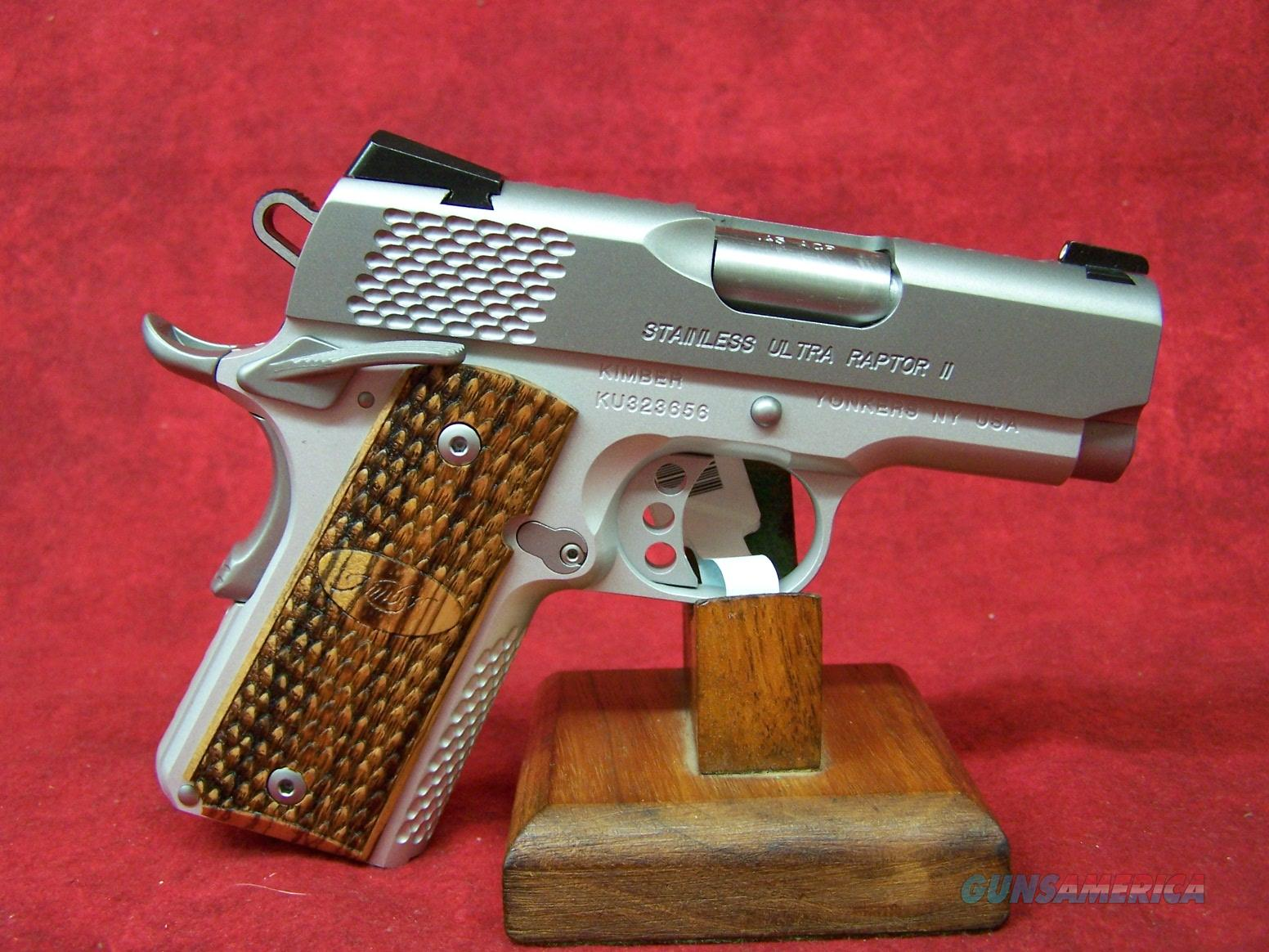 "Kimber Stainless Ultra Raptor II 45 ACP 3"" Barrel (32375)  Guns > Pistols > Kimber of America Pistols"
