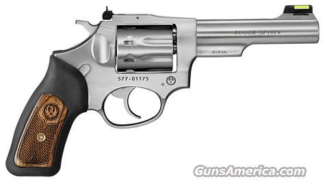 "Ruger SP101 .22LR 4.2"" 8 shot KSP-242-8 (5765)  Guns > Pistols > Ruger Double Action Revolver > SP101 Type"