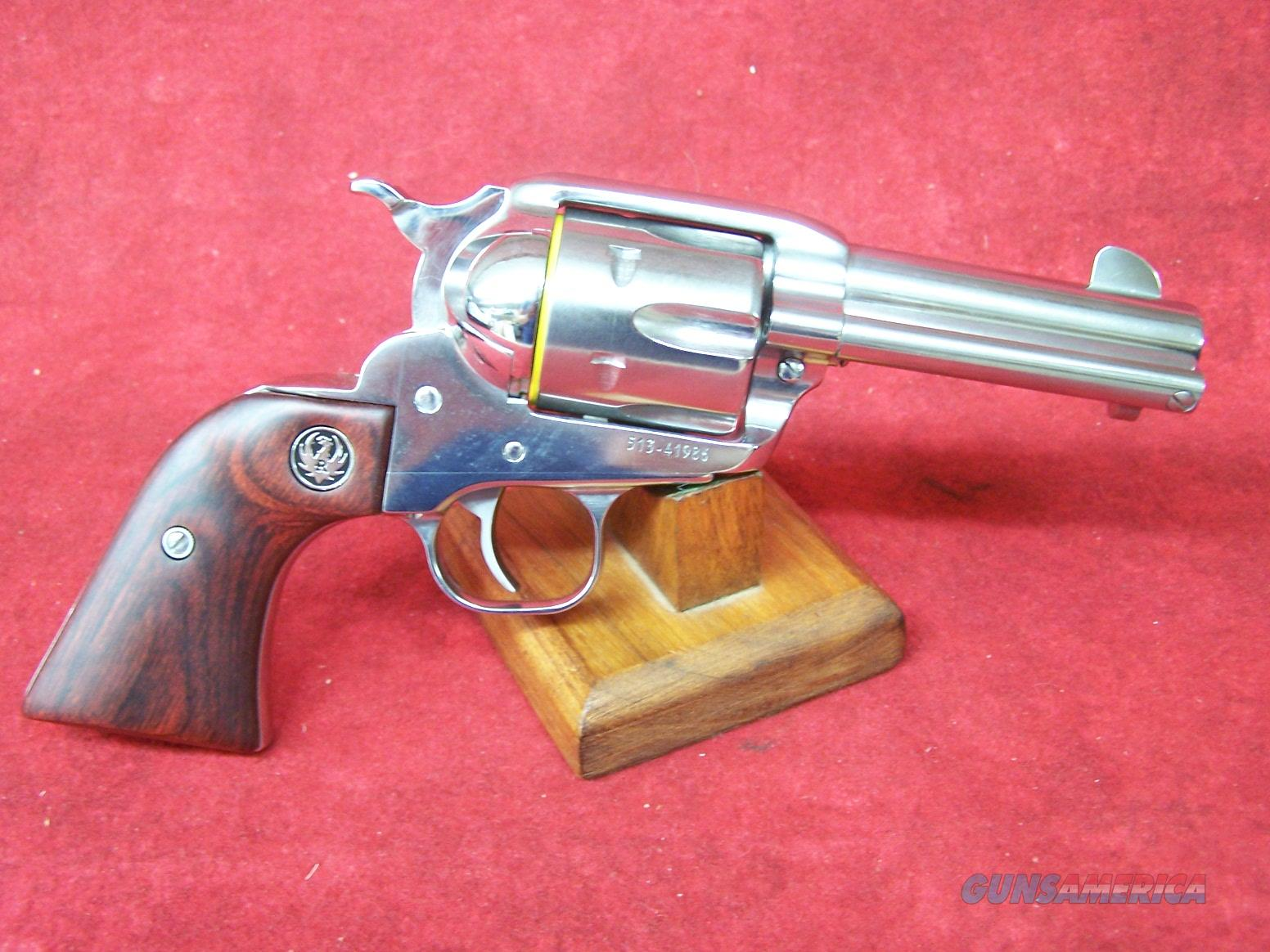 "Ruger New Vaquero .45 Colt 3.75"" Hi Gloss SS Barrel (5120)  Guns > Pistols > Ruger Single Action Revolvers > Cowboy Action"