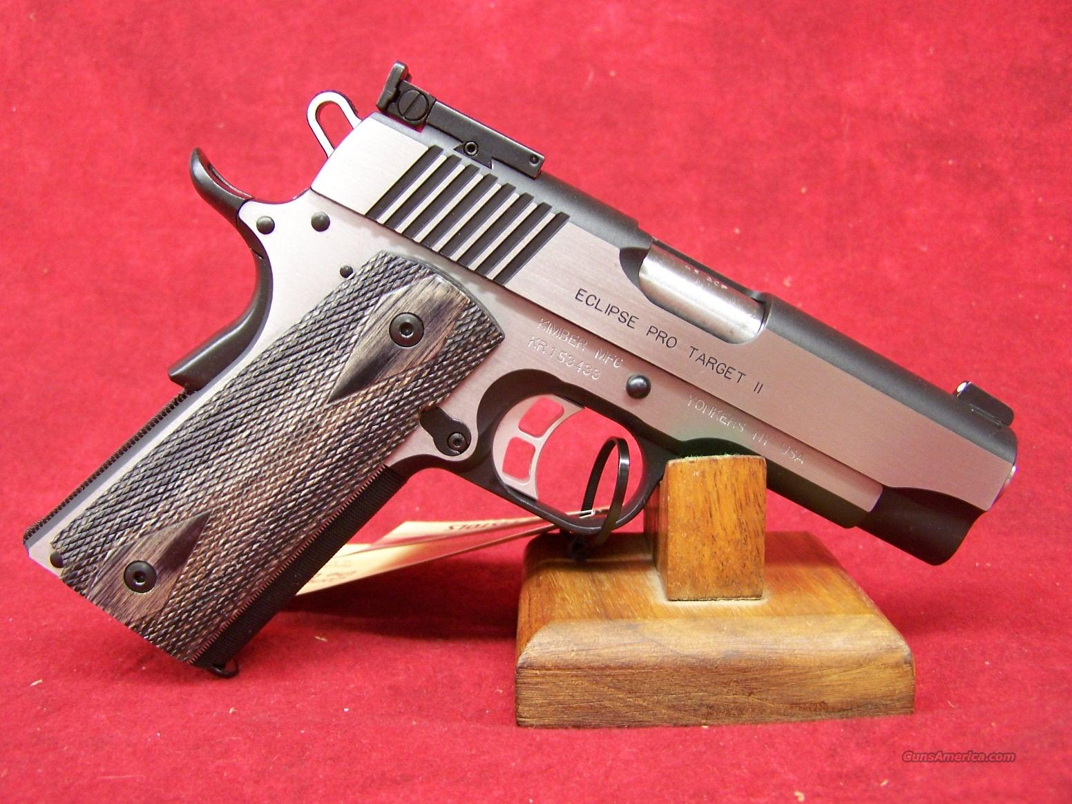 Kimber Eclipse Pro Target II .45ACP(32032)  Guns > Pistols > Kimber of America Pistols