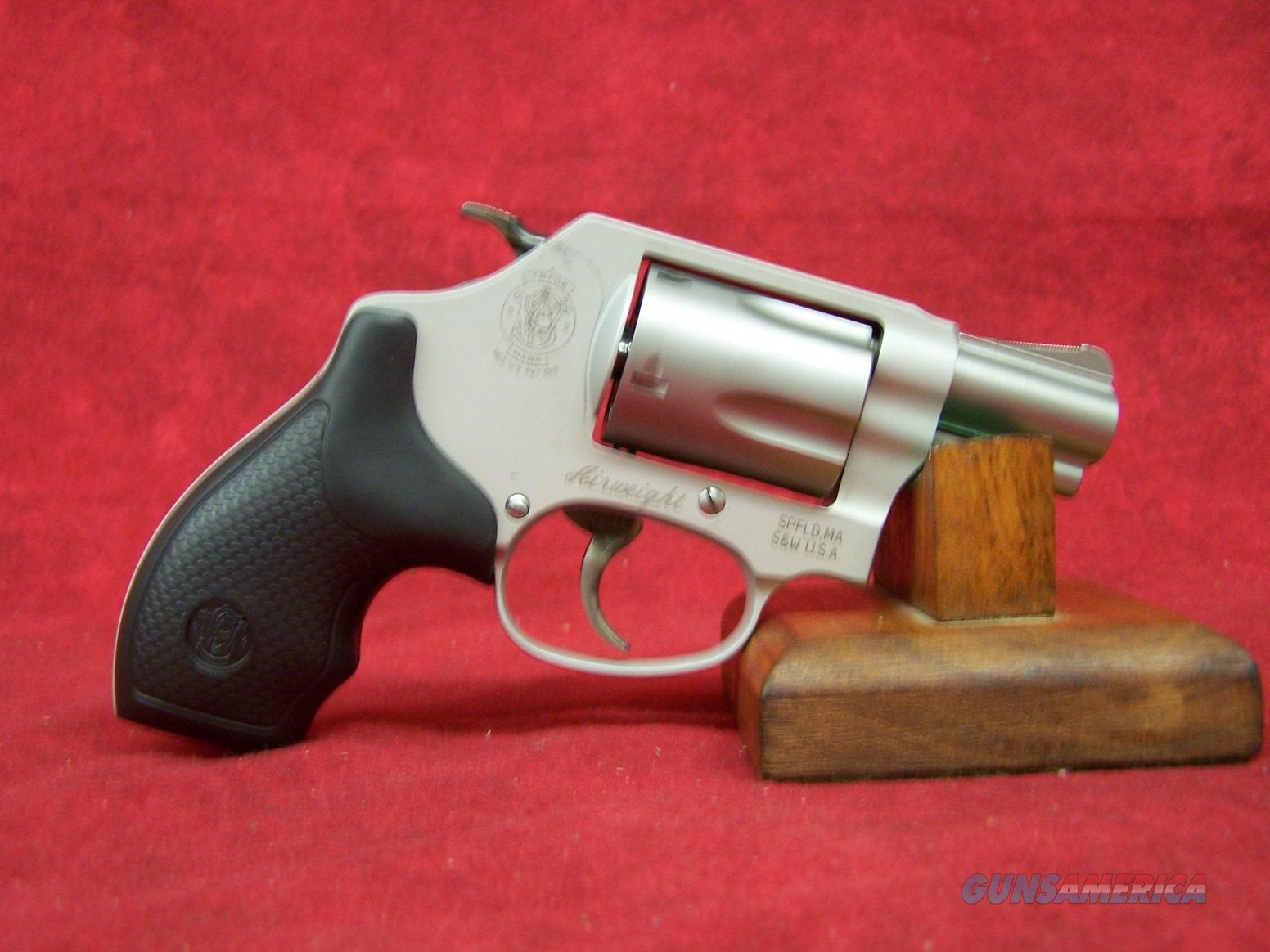 Smith&Wesson Model 637 Small J-Frame Airweight .38 Special (163050)  Guns > Pistols > Smith & Wesson Revolvers > Small Frame ( J )