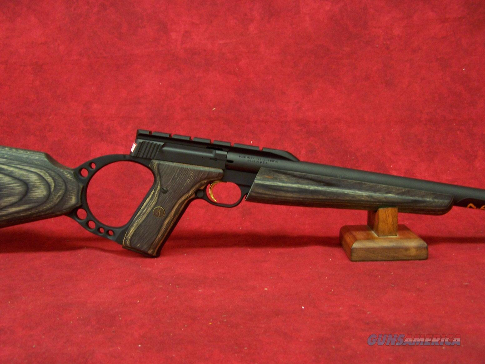 Browning Buck Mark Rifle Target Gray Laminate .22 LR (021030202)  Guns > Rifles > Browning Rifles > Semi Auto > Hunting