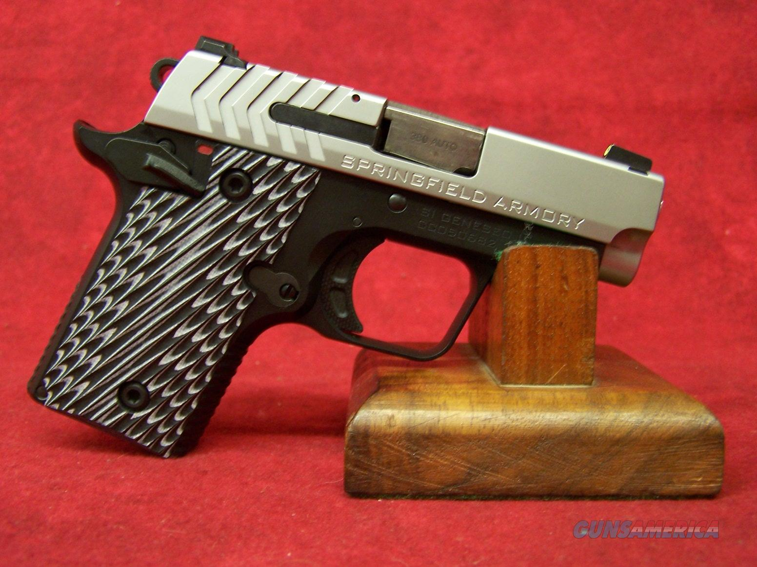 "Springfield Armory 911 .380 ACP Stainless 2.7"" Barrel (PG9109S)  Guns > Pistols > Springfield Armory Pistols > 1911 Type"