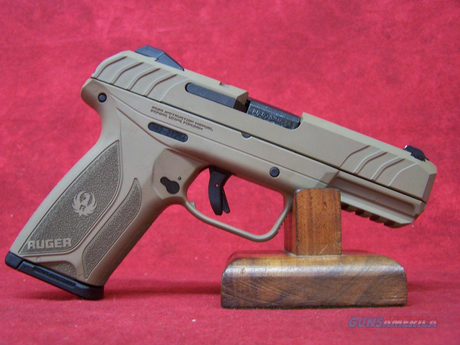 "Ruger Security 9 Brown Cerakote 9mm 4"" Barrel (03813)  Guns > Pistols > Ruger Semi-Auto Pistols > Security 9"