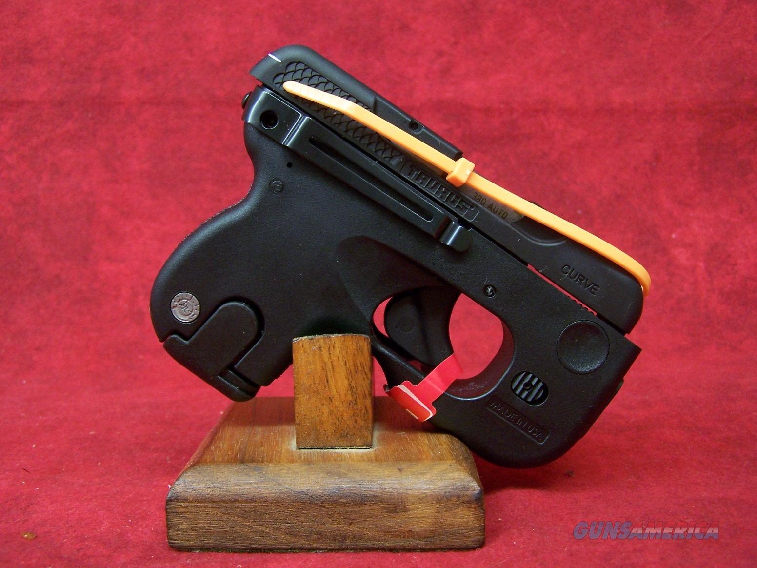 Taurus Curve With Laser .380 ACP 2.5 Inch Barrel Black Oxide Finish Six Round (1-180031l) Model 180   Guns > Pistols > Taurus Pistols > Semi Auto Pistols > Polymer Frame