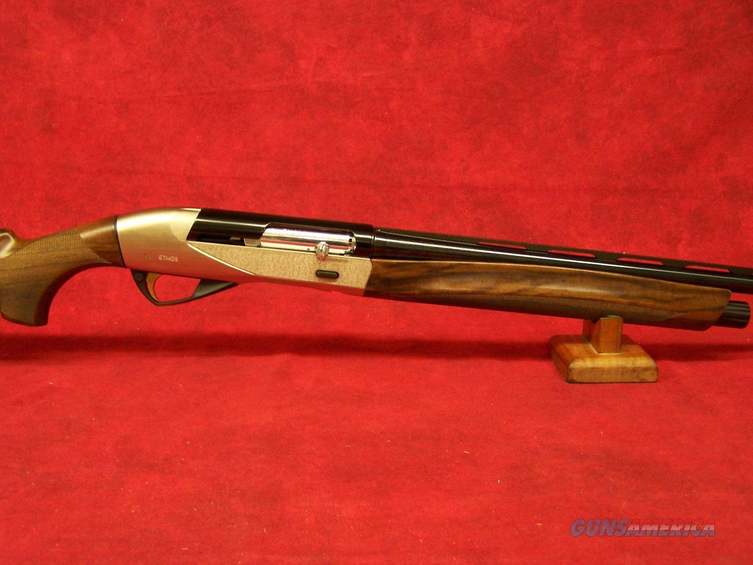 "Benelli Ethos 20 Ga 3"" AA-Grade Satin Walnut Nickel Engraved Progressive Comfort 26"" Barrel (10471)  Guns > Shotguns > Benelli Shotguns > Sporting"