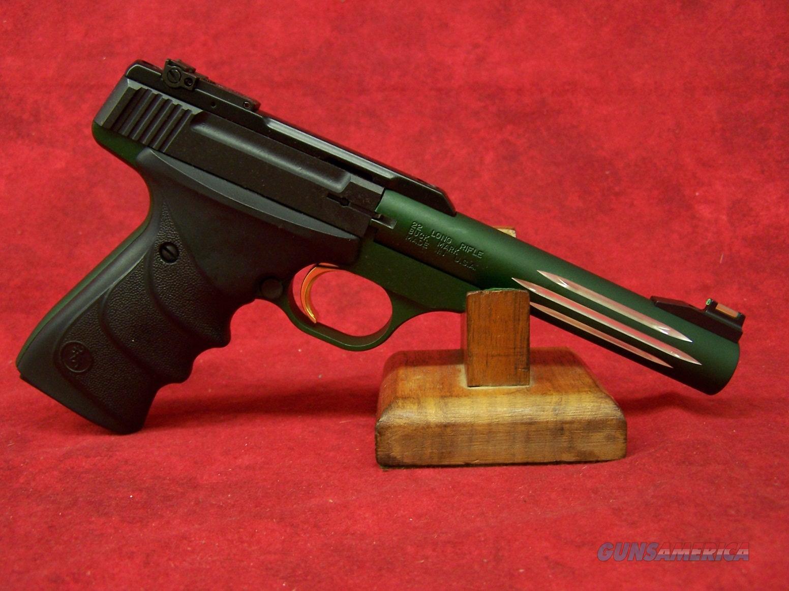"Browning Buck Mark Lite Green URX 5 1/2"" Barrel (051516490)  Guns > Pistols > Browning Pistols > Buckmark"