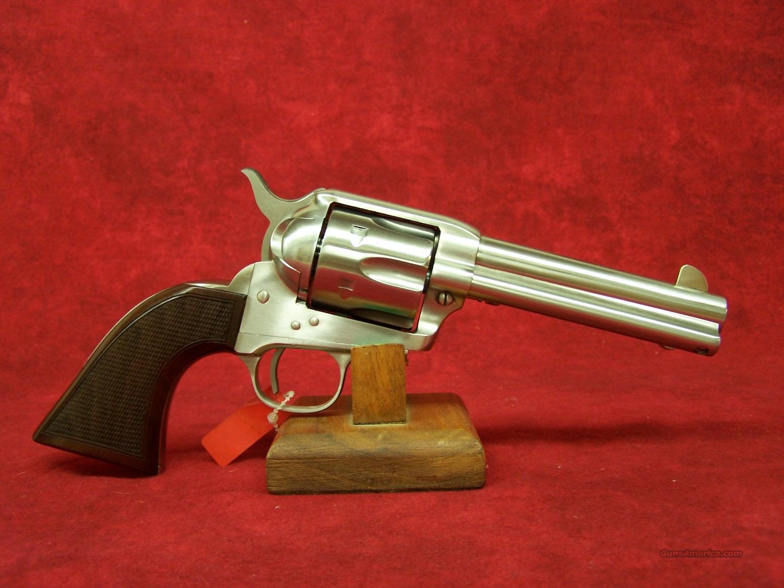 "Uberti 1873 Cattleman El Patron NM 4 3/4"" SS .45 Colt (345176)  Guns > Pistols > Uberti Pistols > Ctg."